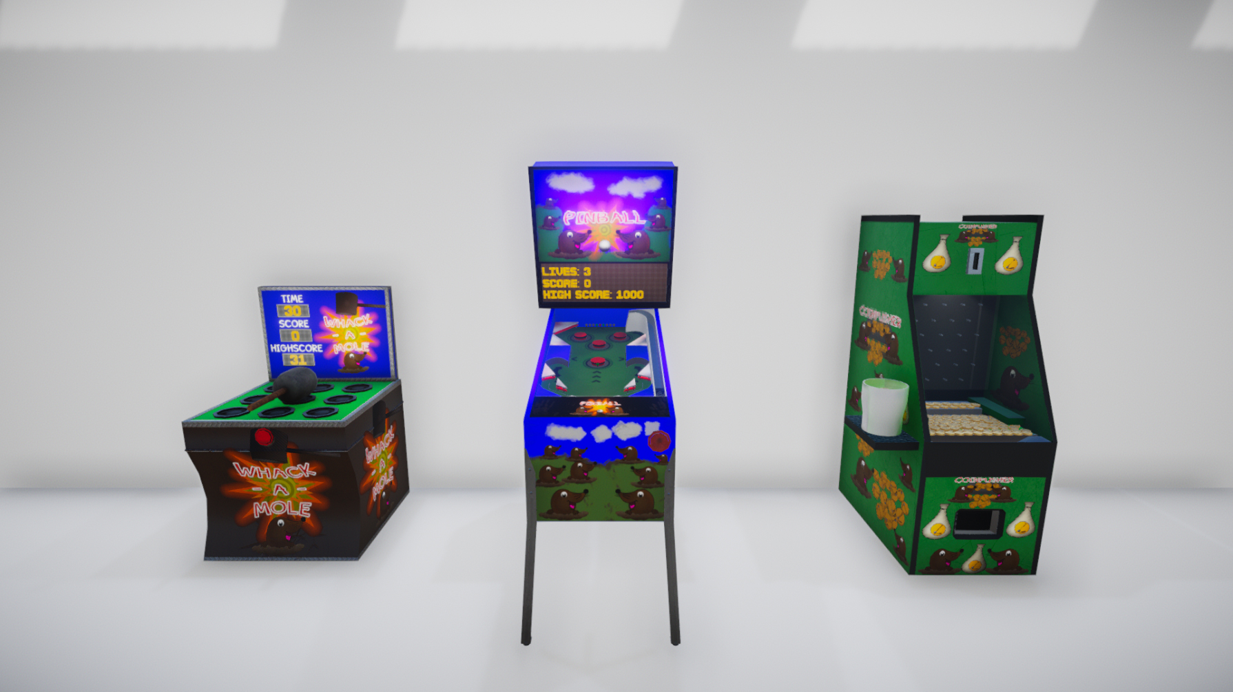 Accessibility Arcade in VR