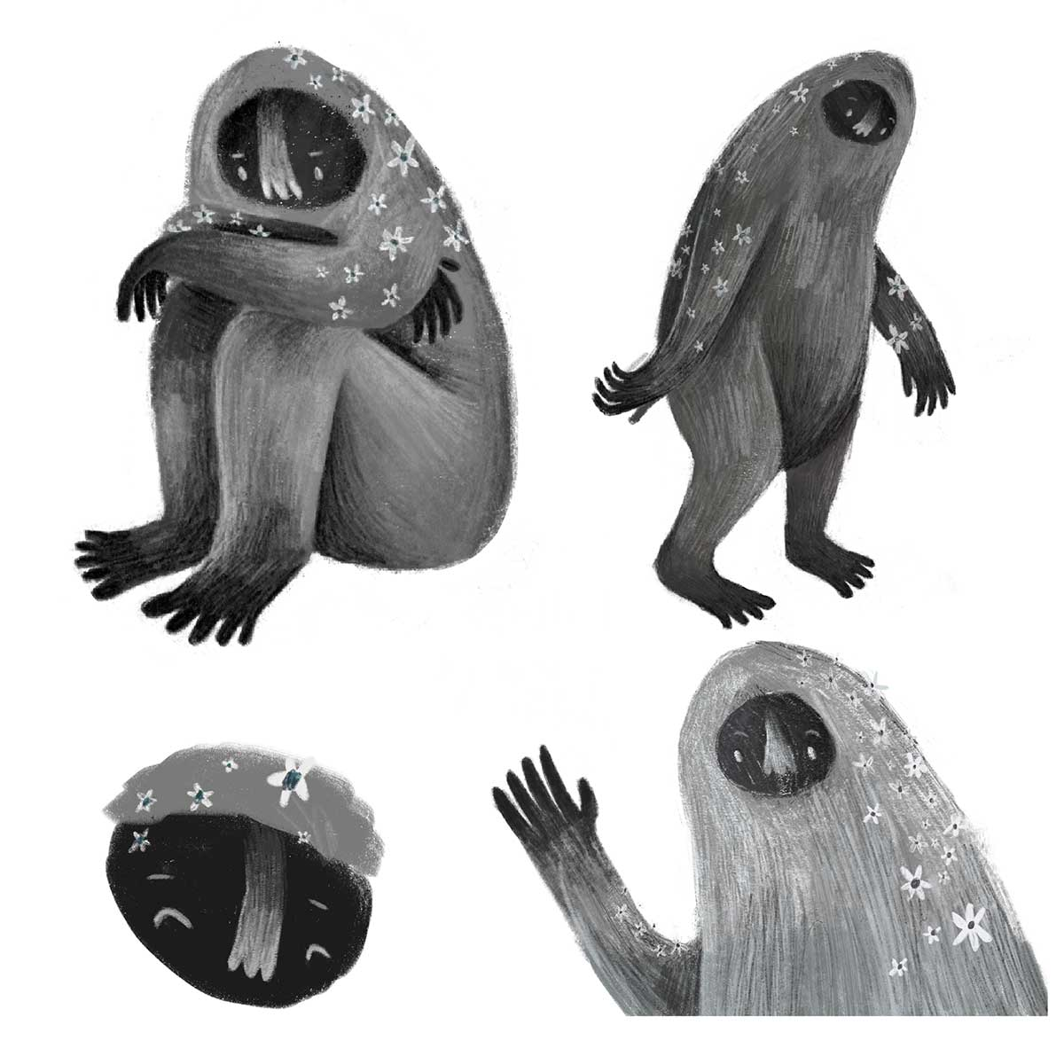 Hubert Character Design