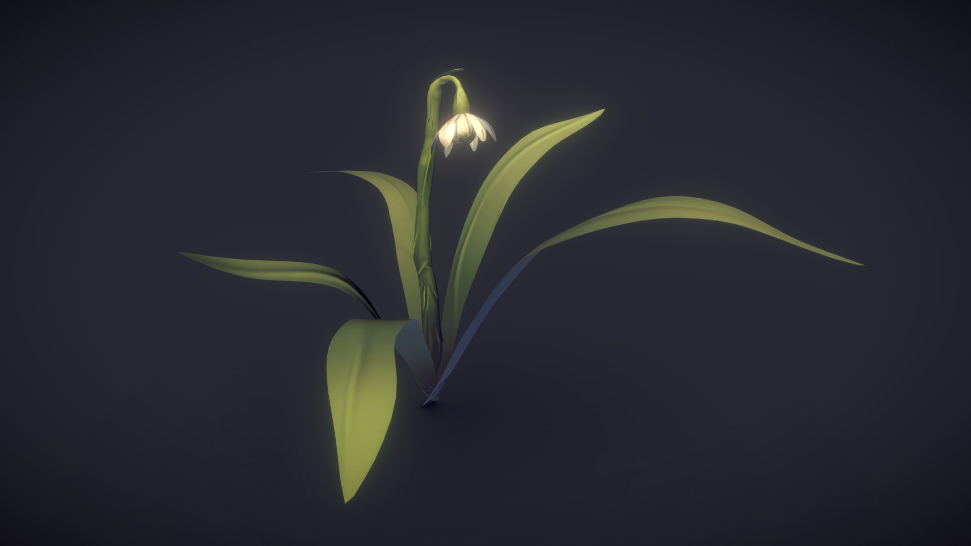 Flower Model from Final Year Project