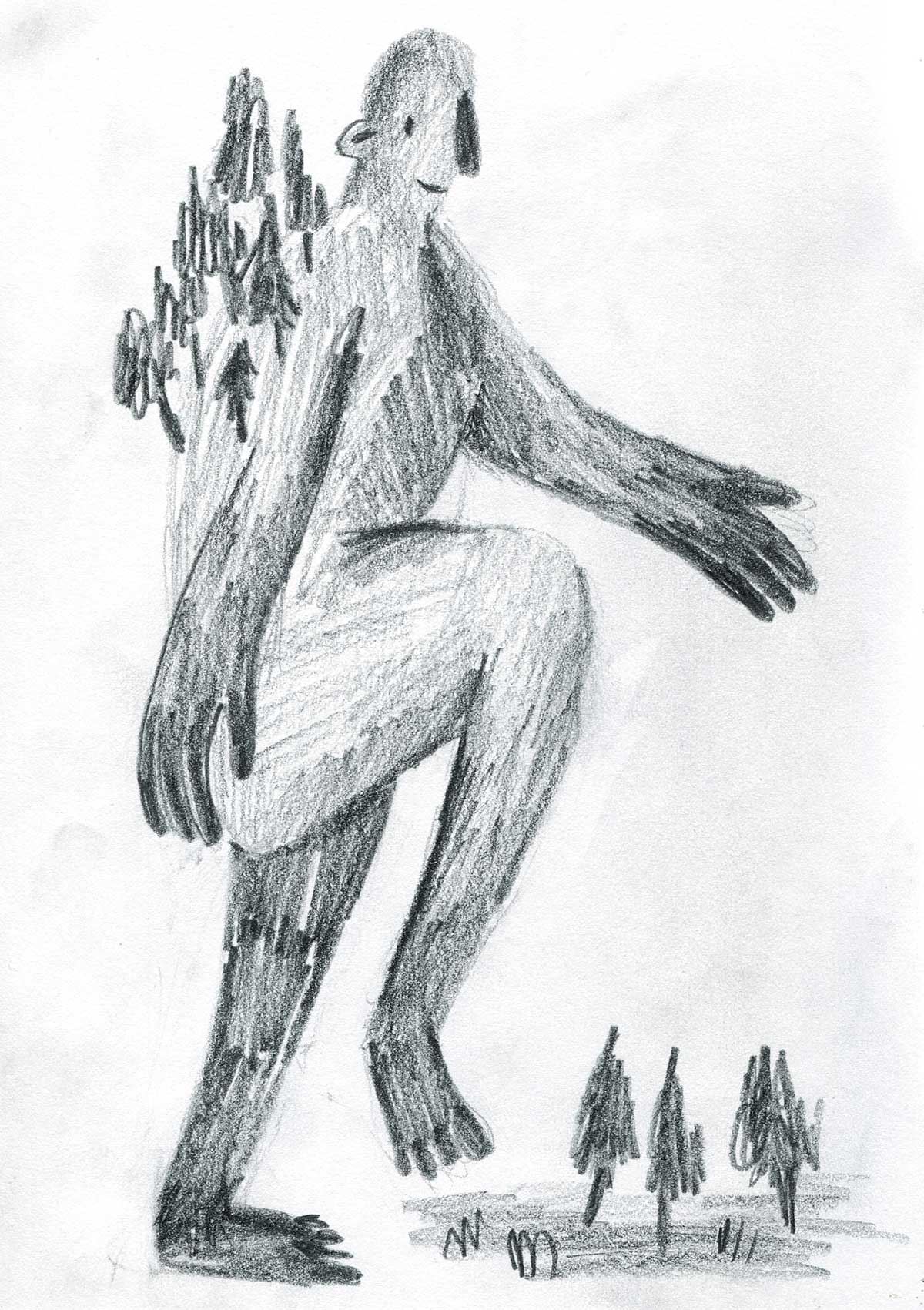 'Giants of the Land' Initial Character Sketch