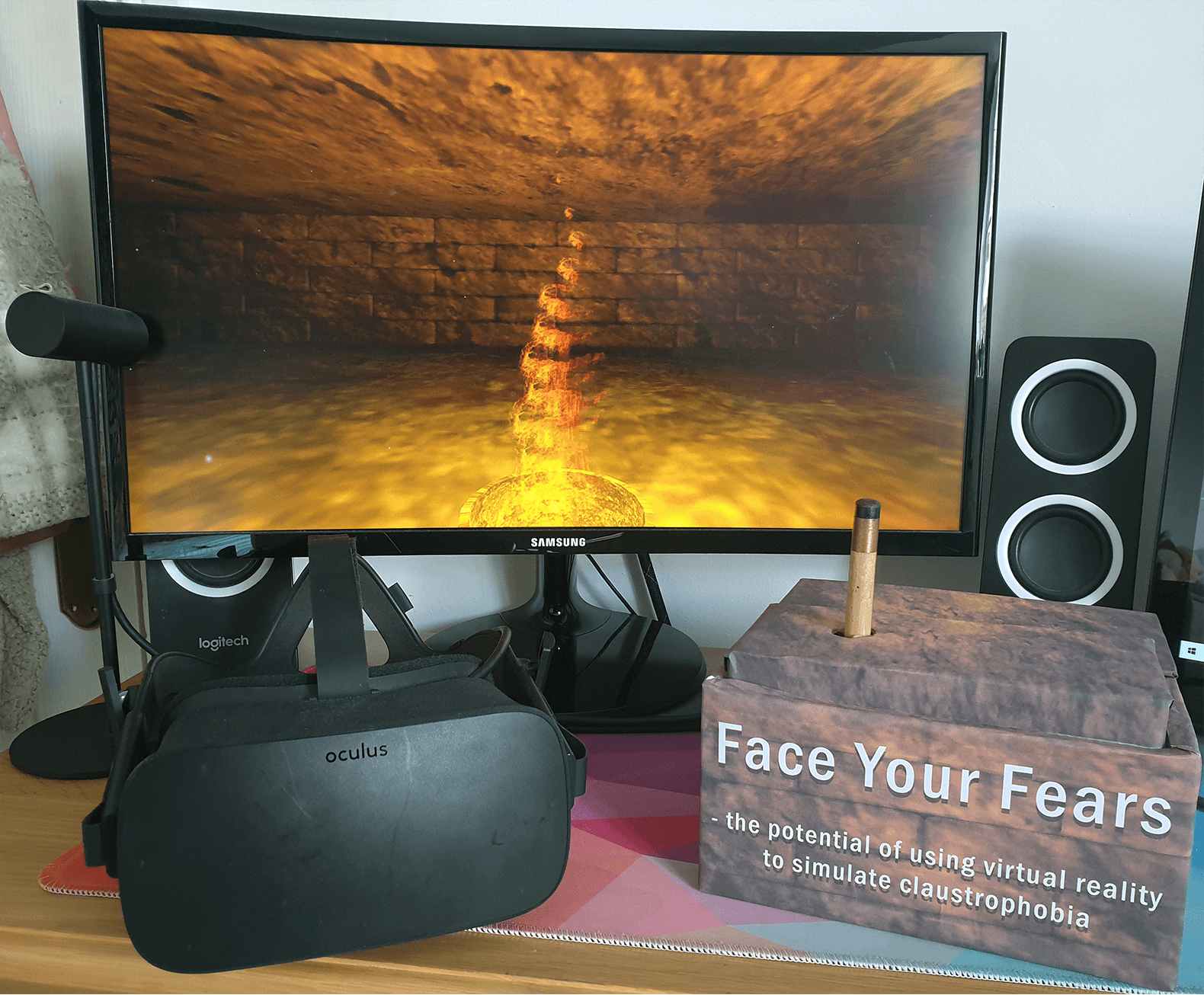 Face Your Fears – the equipment