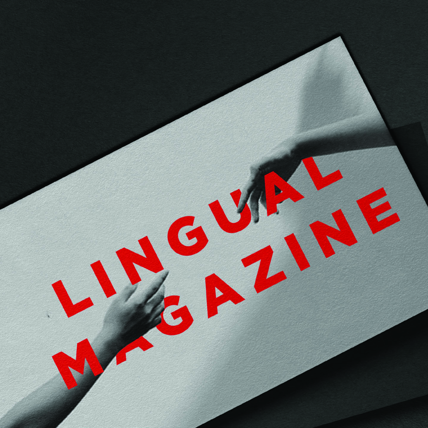 LINGUAL MAGAZINE - BUSINESS CARD DETAIL