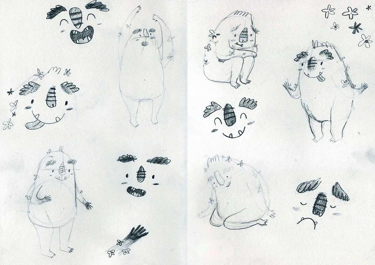 Vito Initial Character Sketch