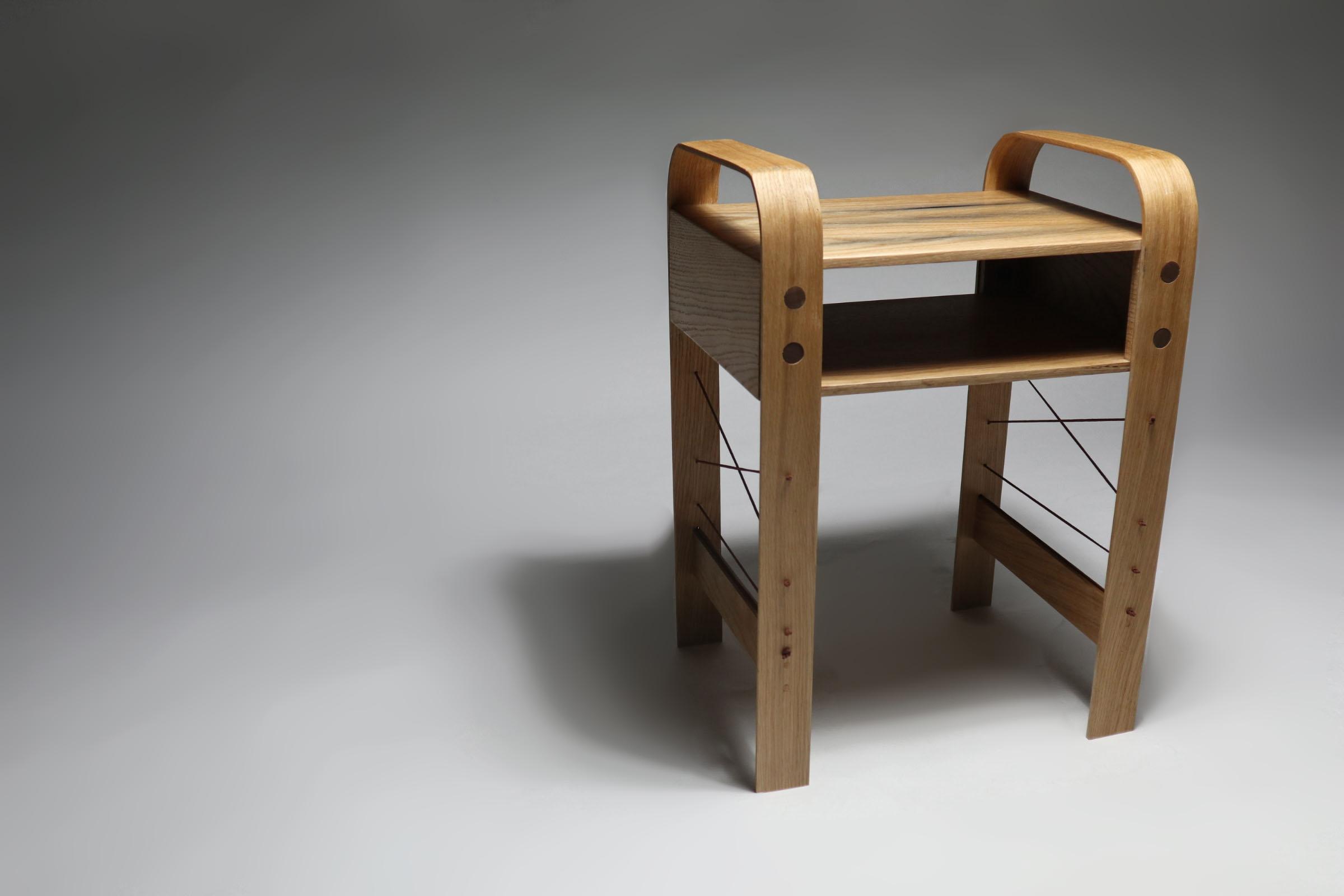 Oak - Steam Bent Table