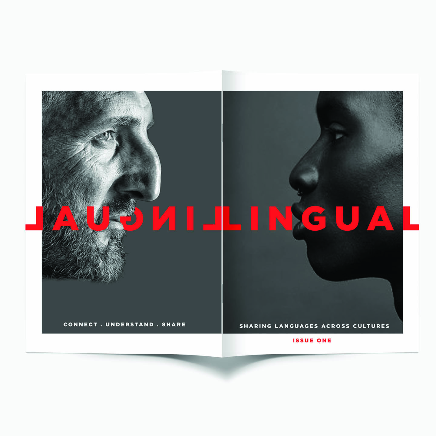 LINGUAL MAGAZINE - FRONT/BACK COVER