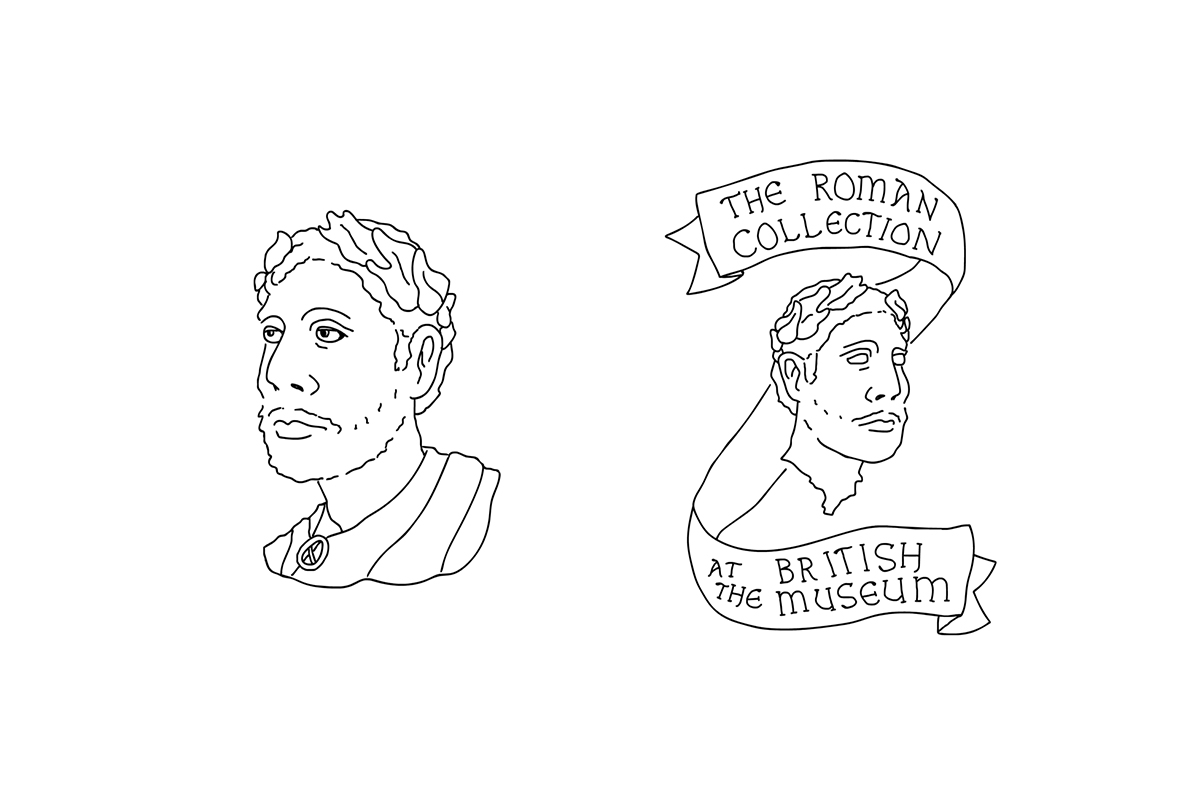 The Roman Collection - A mock advertisement for the British Museum