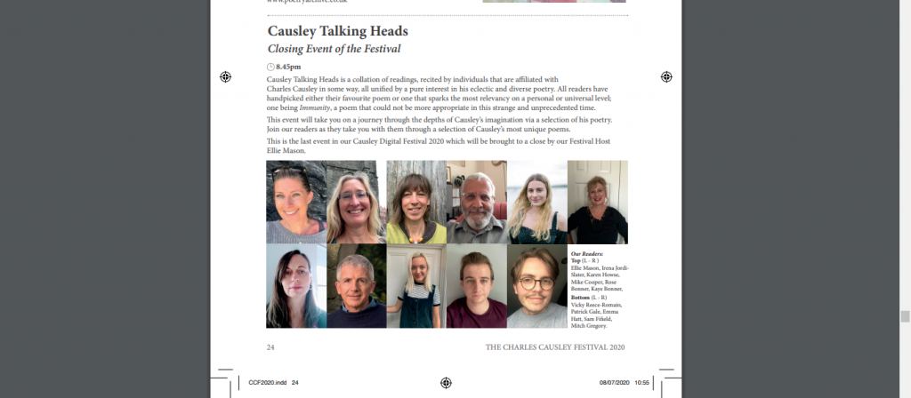Causley Talking Heads