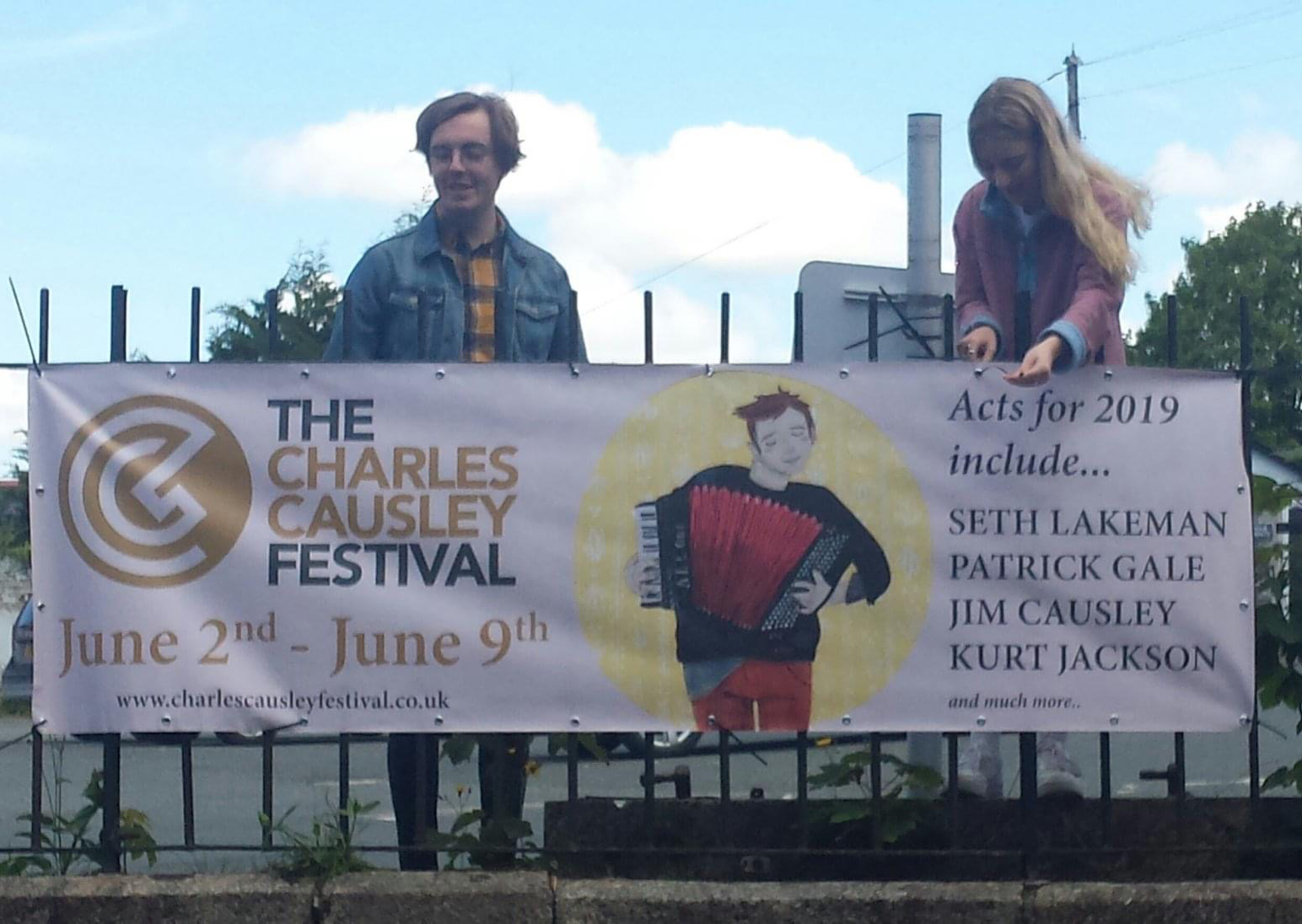 Advertising for The Charles Causley Trust