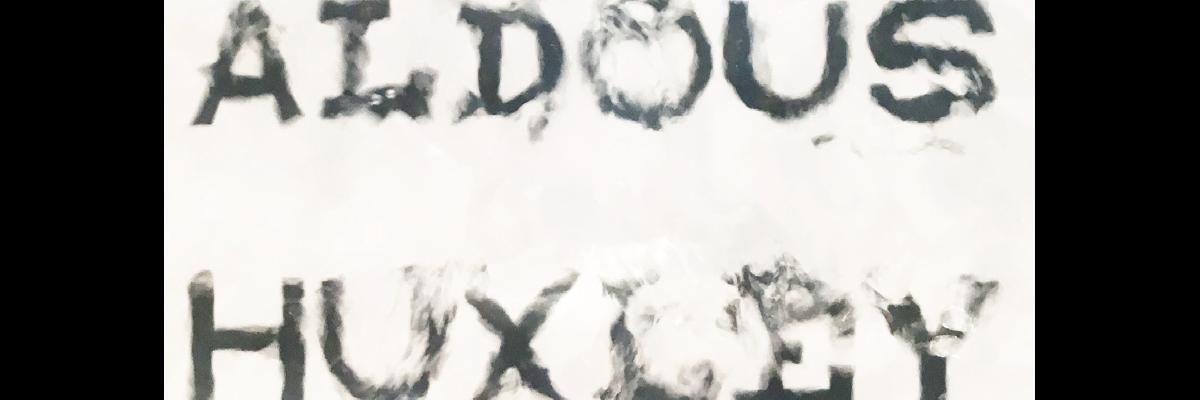 Aldous Huxley typeface