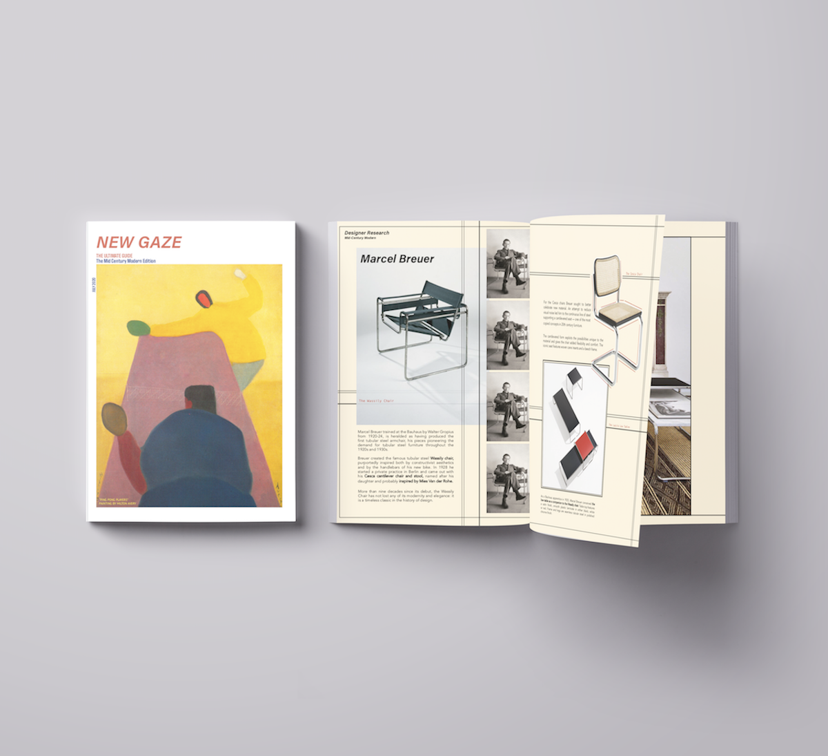'New Gaze - The Ultimate Guide' A Mid-Century Modern Research Guide Booklet