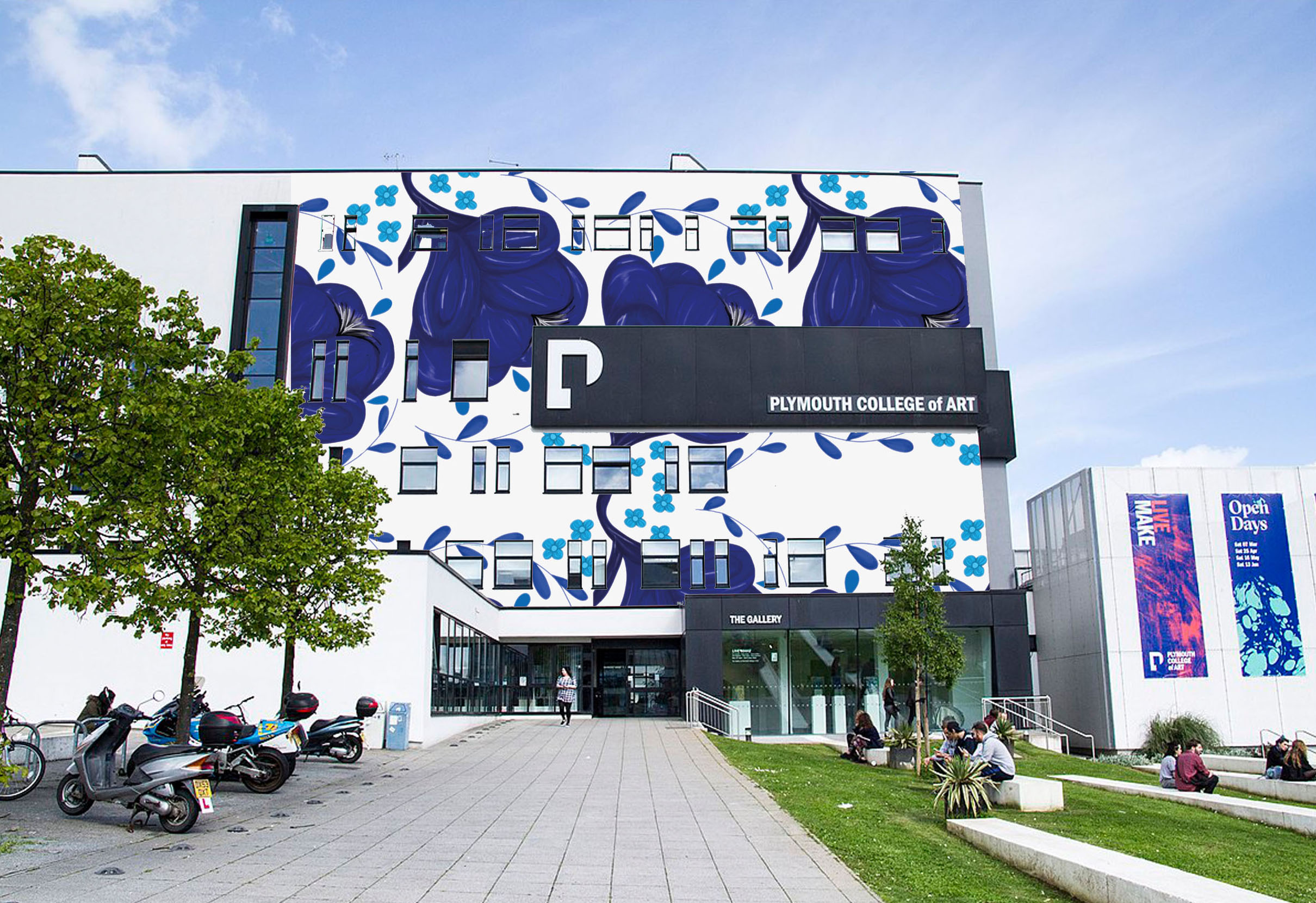 301: Plymouth College of Art Visual with Pattern