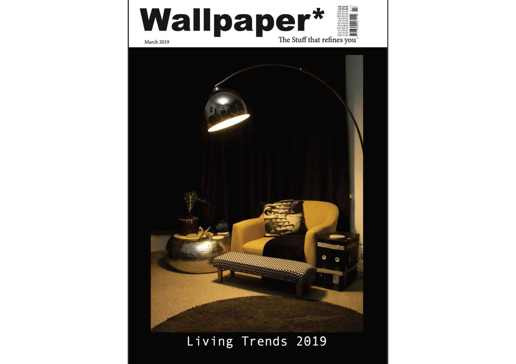 Wallpaper magazine spread