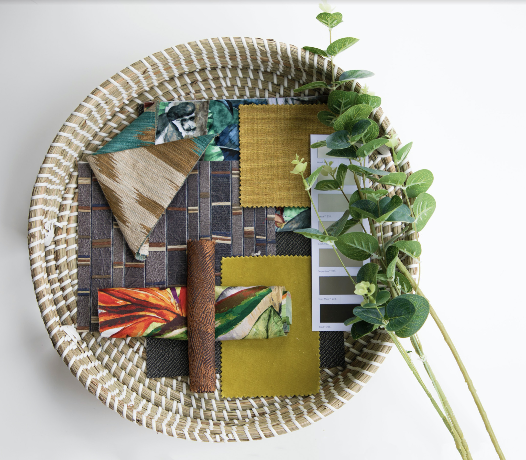 UKUMBI African Restaurant, materials board