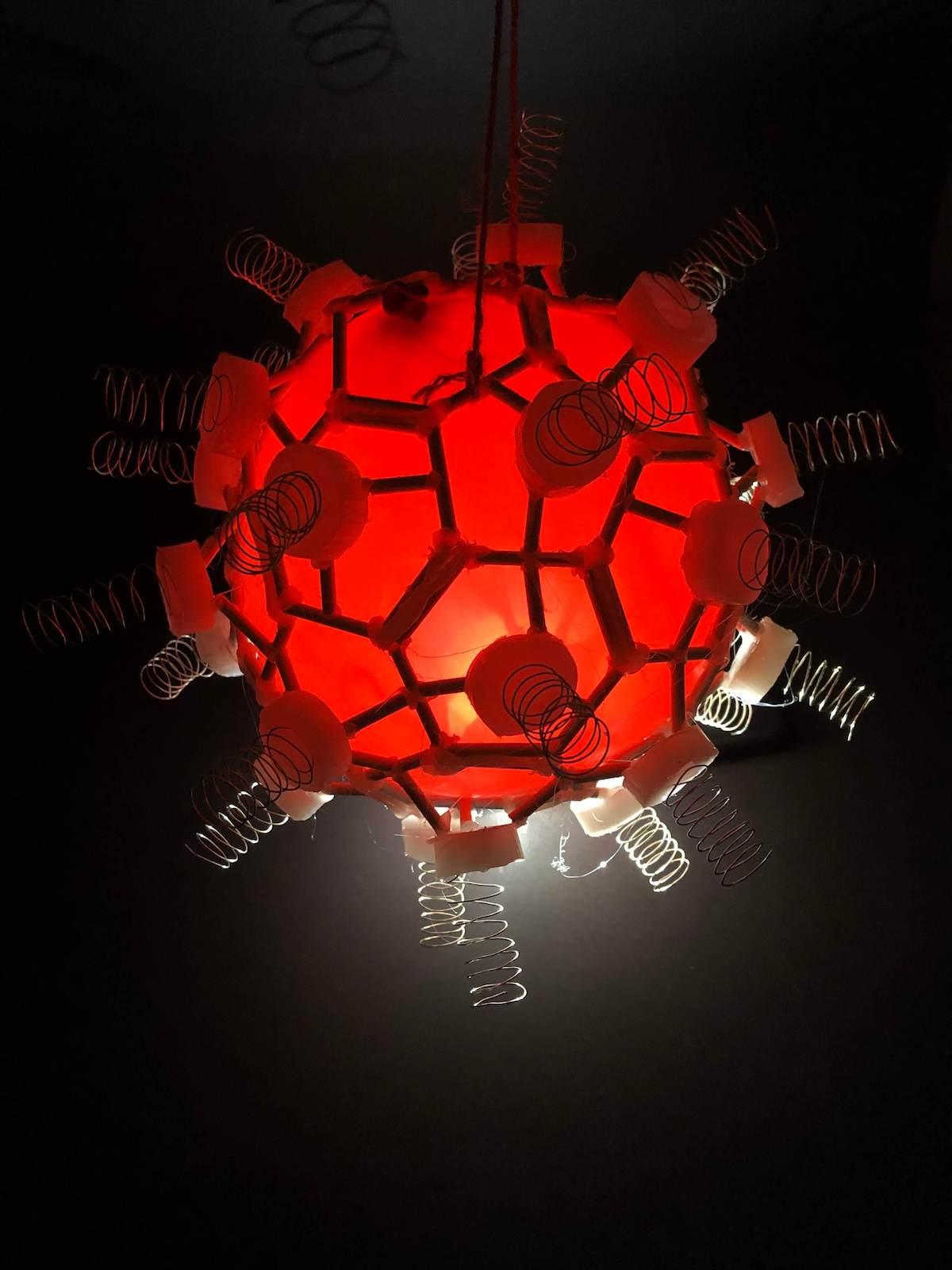 Red light wooden prototype