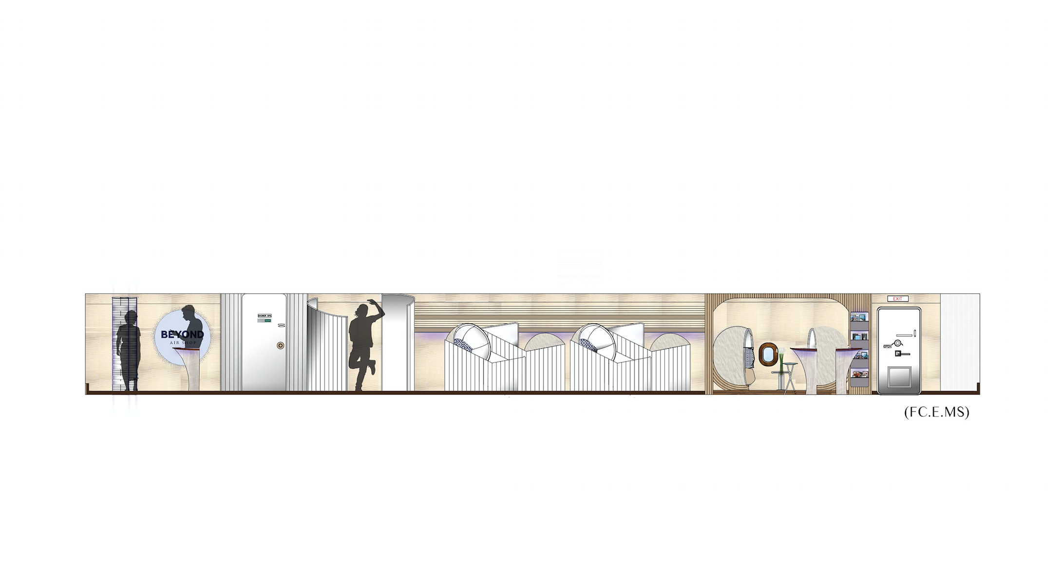 Beyond by Airbus - Elevation Drawing