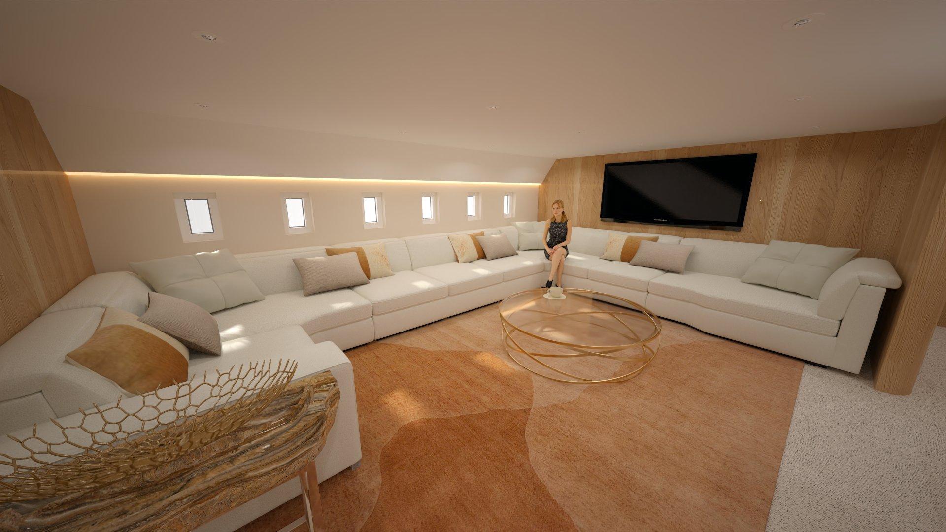 Airbus A350 XWB Family Aircraft - Lounge & Bar