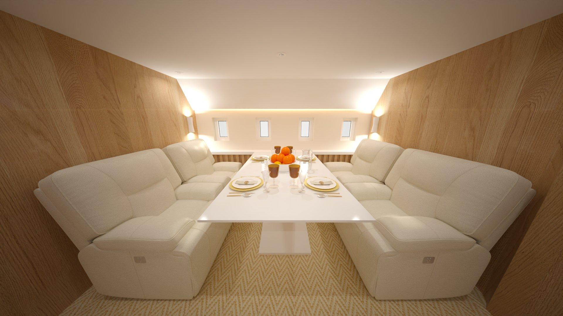 Airbus A350 XWB Family Aircraft - Open Executive Seating
