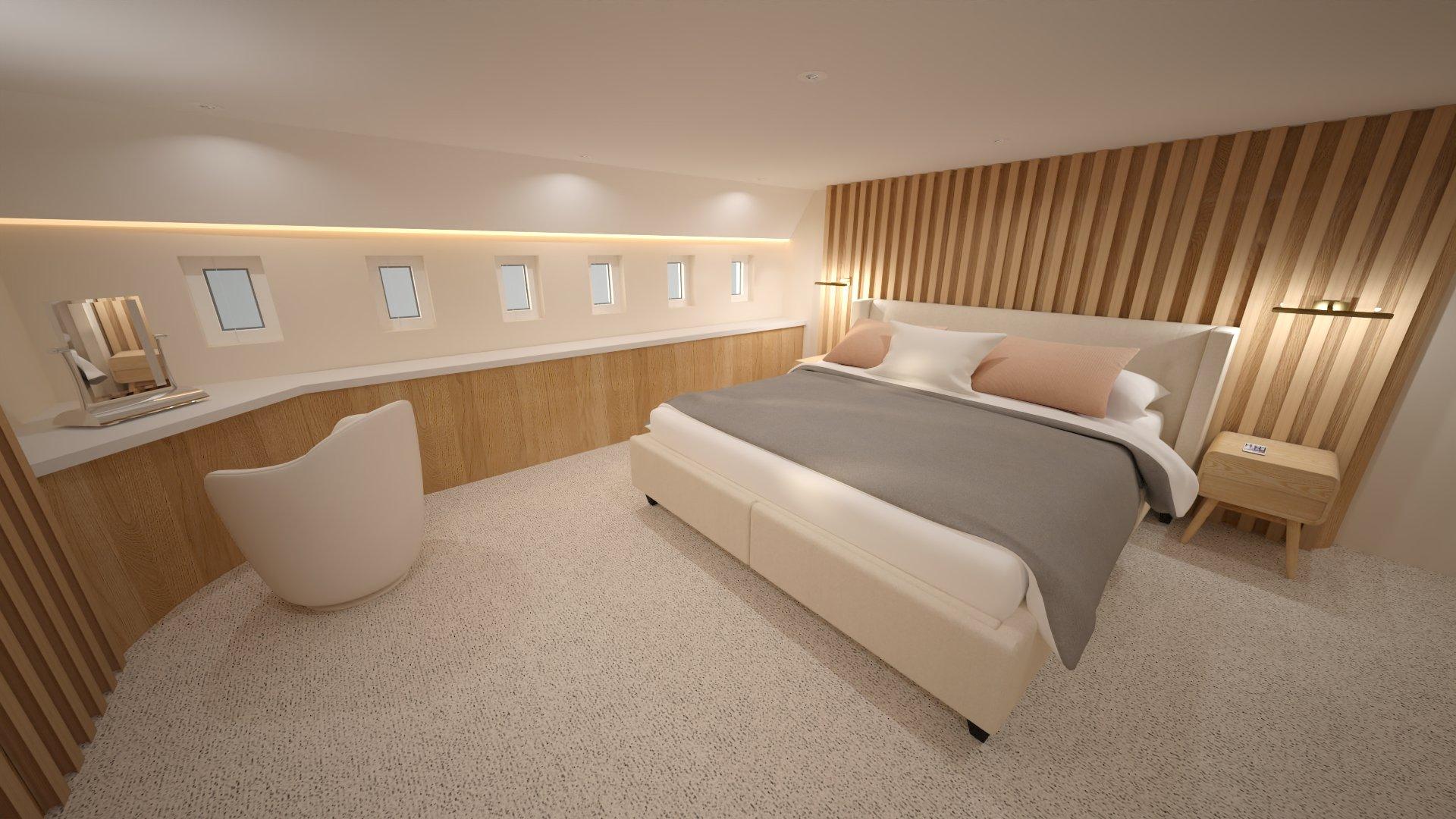 Airbus A350 XWB Family Aircraft - Master Bedroom