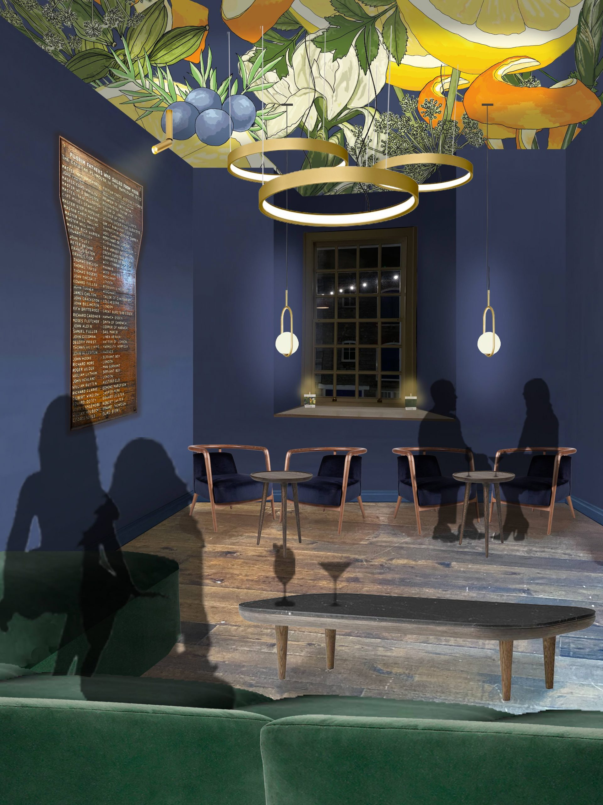 Plymouth Gin Distillery - The Refectory Bar