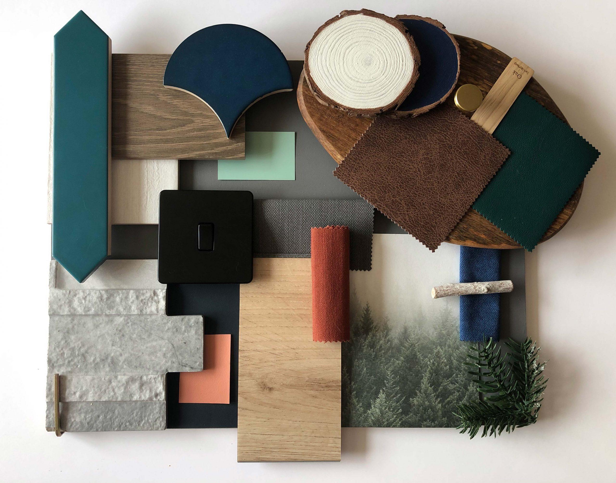 Treehouse Retreat- Final Major Project-Material Board