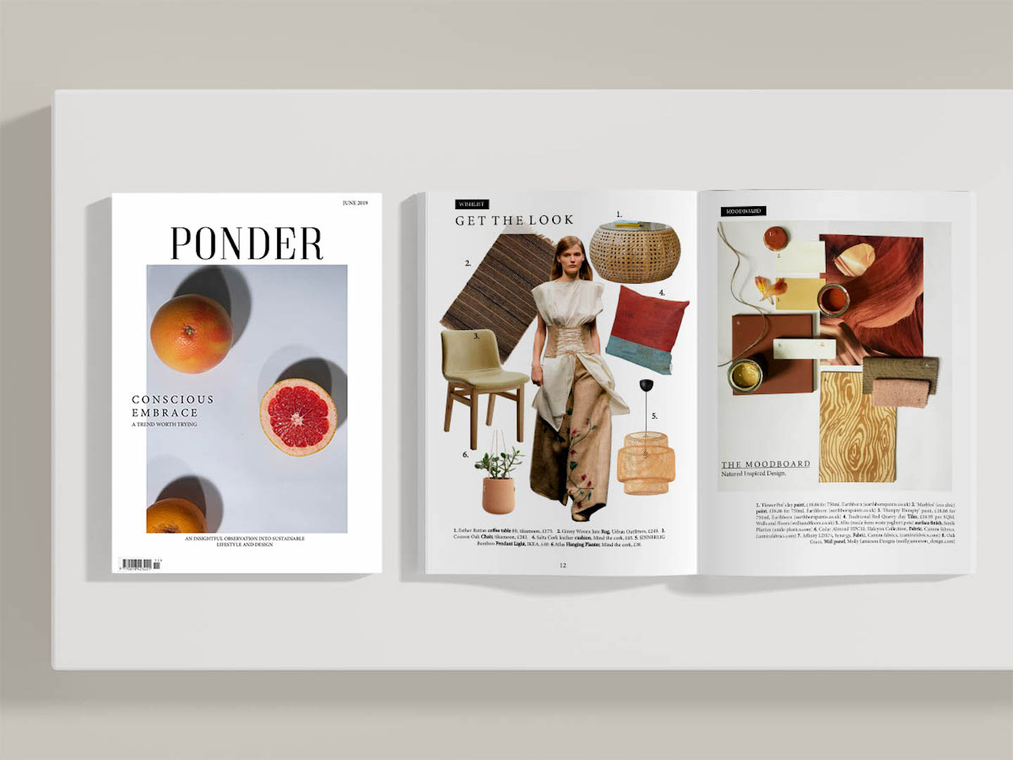 'Ponder' Magazine: An Insightful Observation into Sustainable Interiors