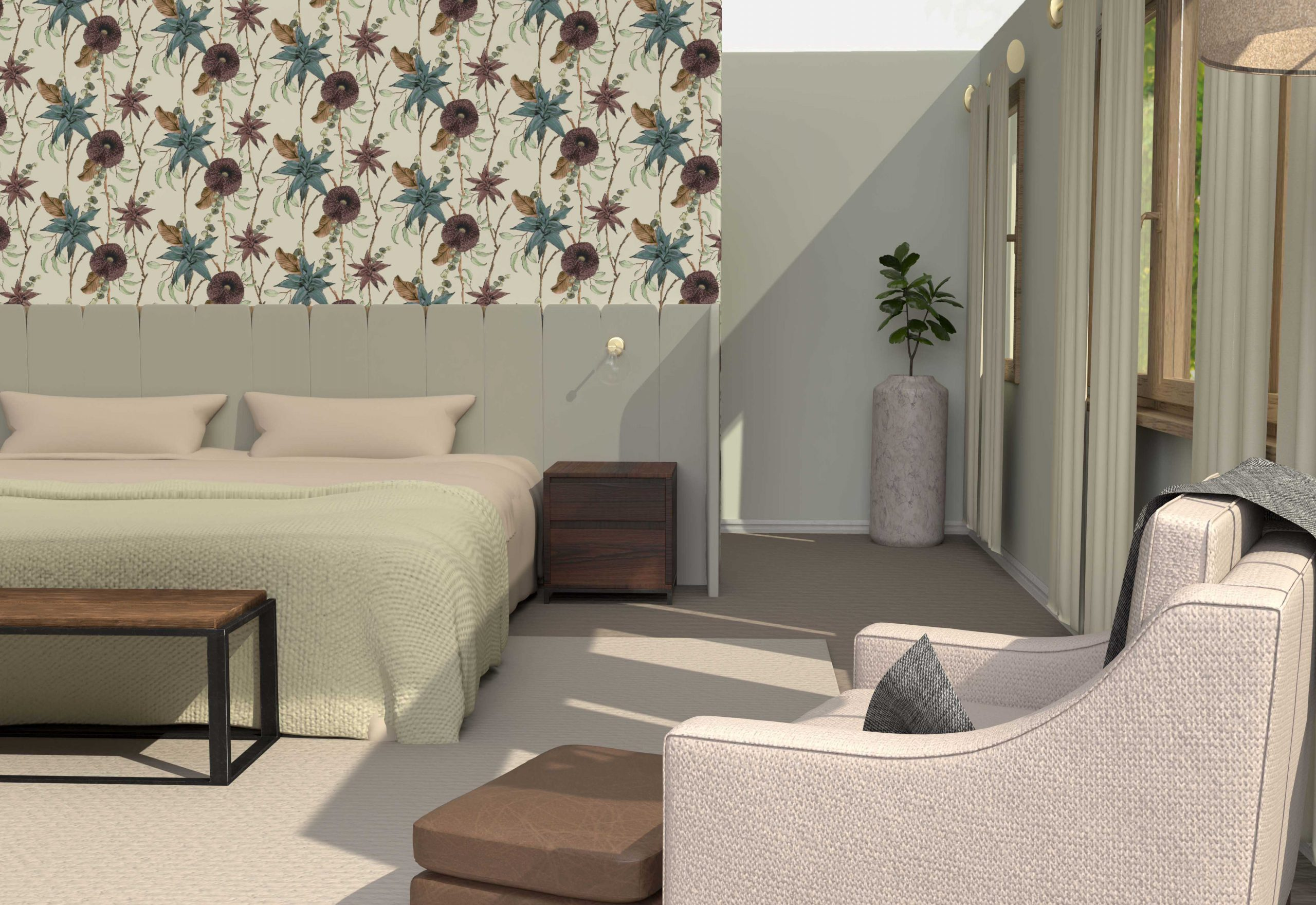 Fordwich Rise, master bedroom