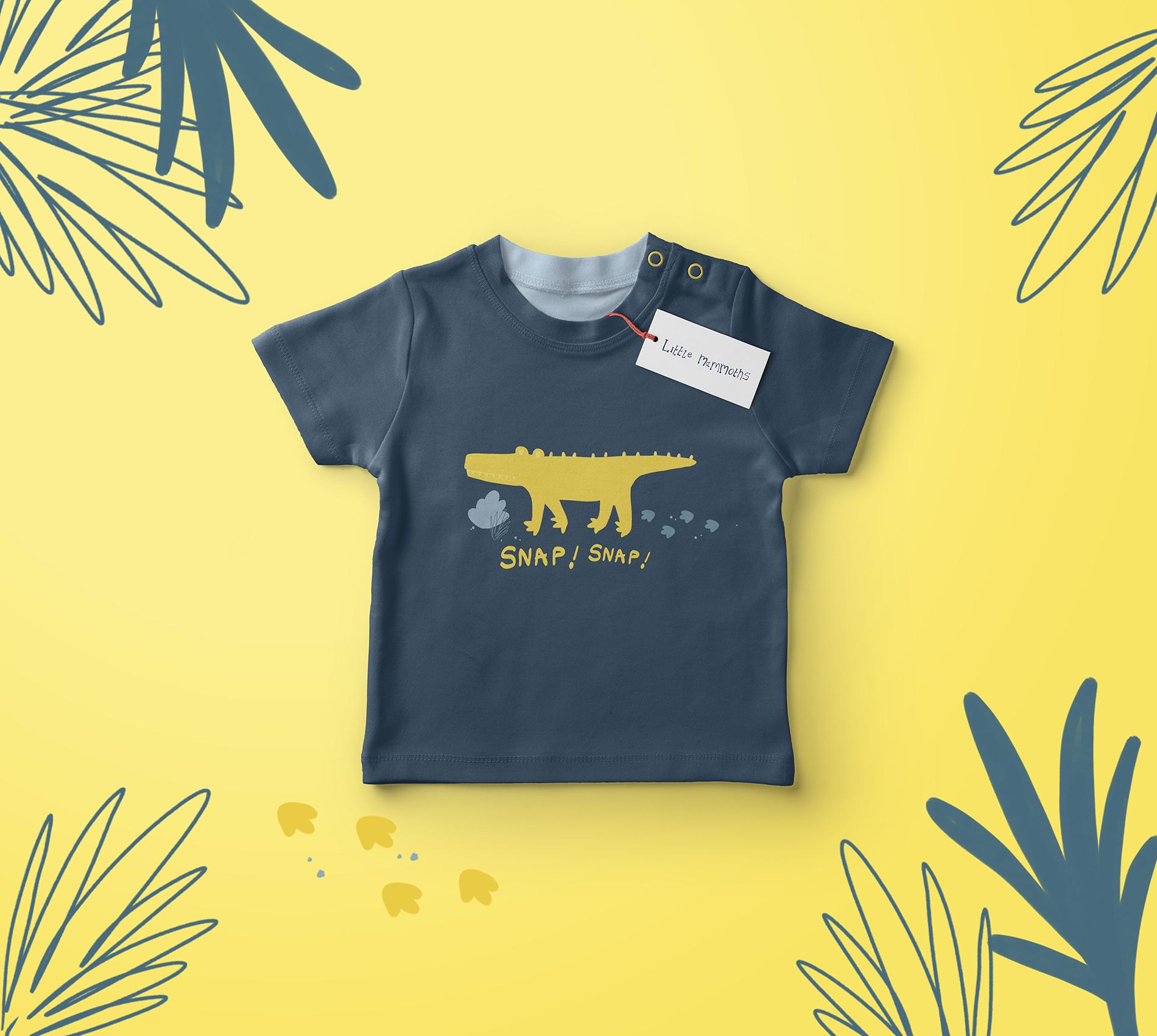 Kids Mock Up T-shirt