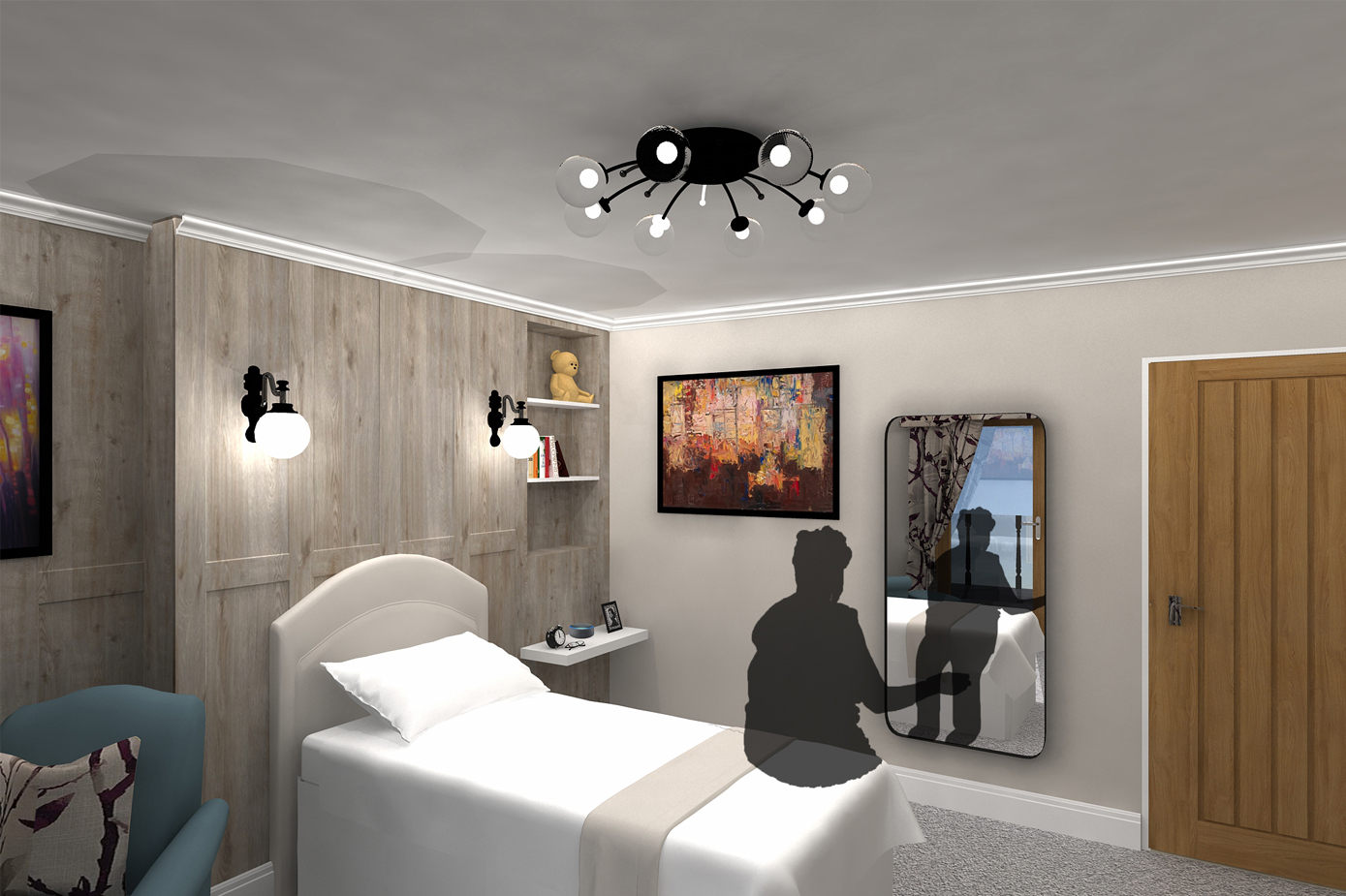 Designing with Care: Rethinking Interior Spaces within Residential Care Homes (Bedroom)