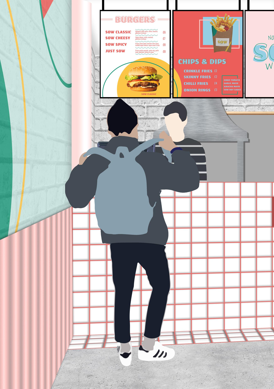 SOW - Vegan Fast Food Restaurant