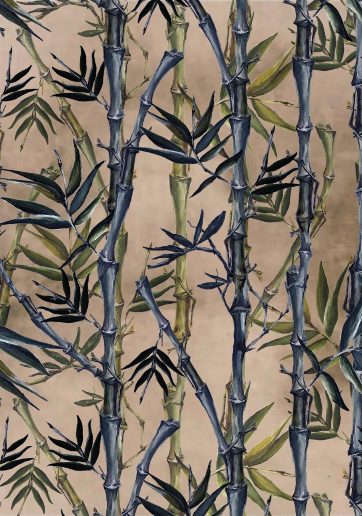 The KUKU Collection, 'Sagano' surface pattern in pink
