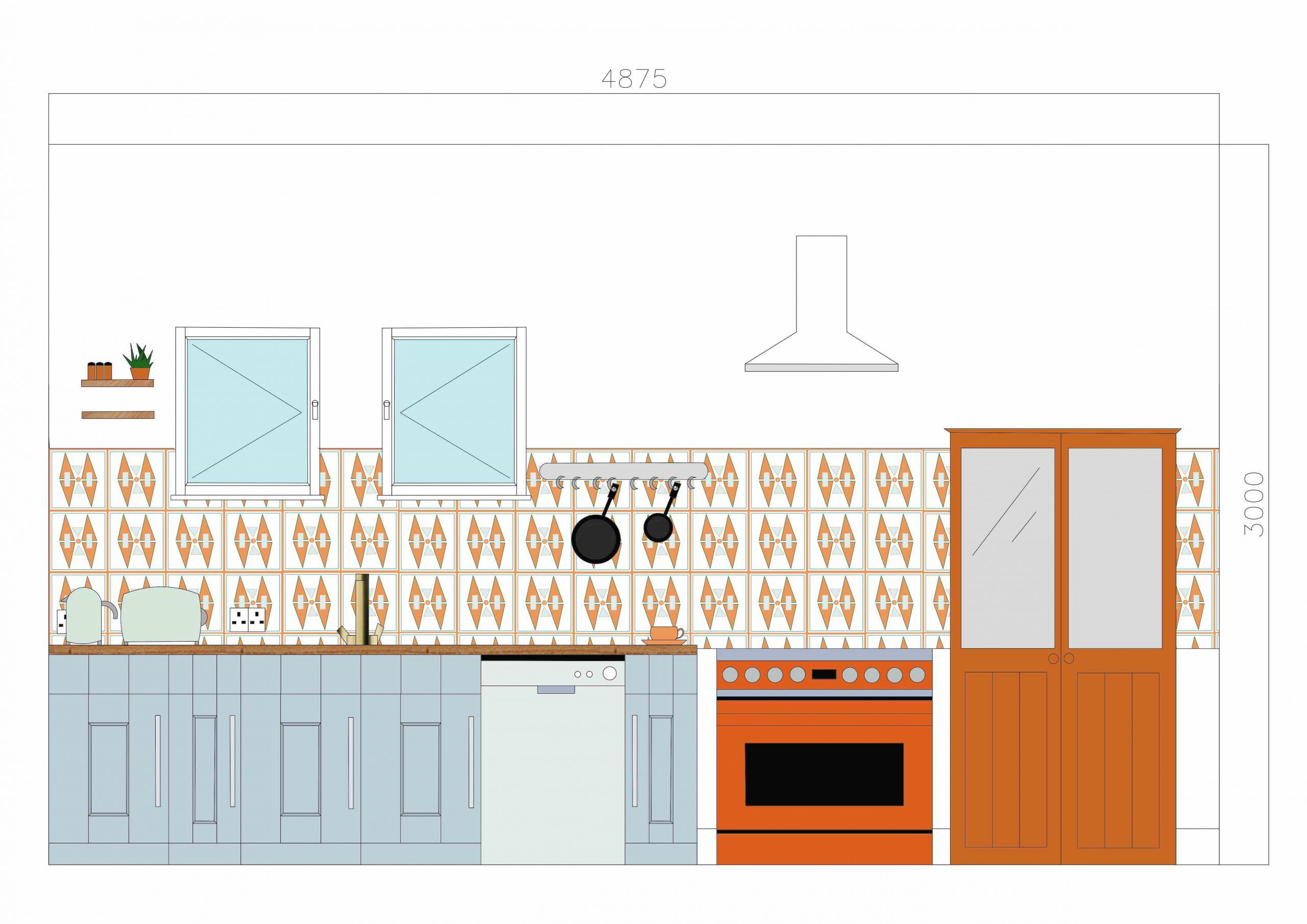 FMP: Kitchen Elevation