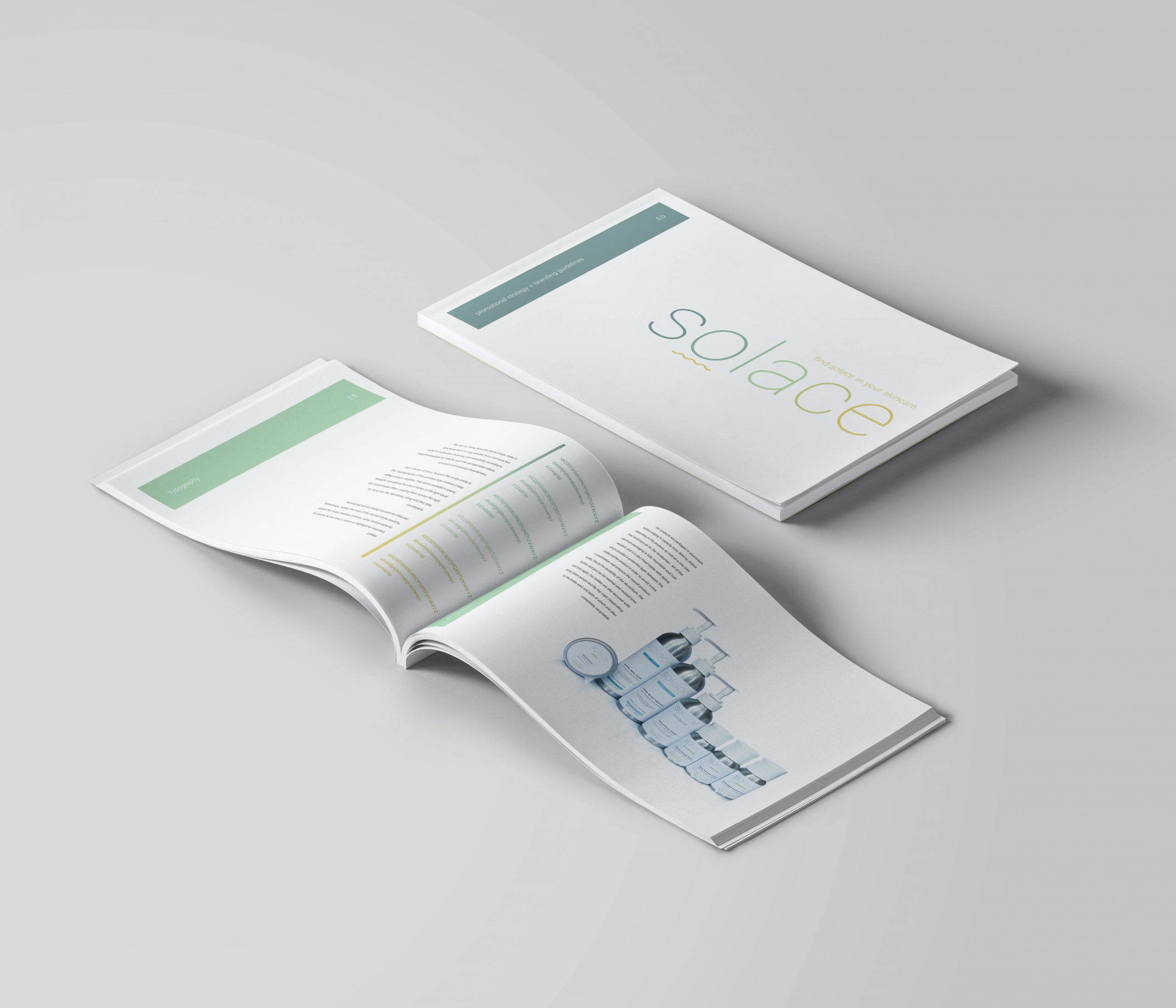 Solace Skincare Branding Guidelines & Promotional Strategy