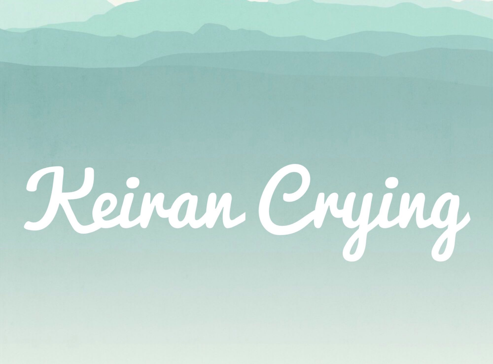 Here is the logo of my website https://KeiranCrying.com/blog , I am always open to collaboration with local businesses. Whether that be to create content or promote on my blog