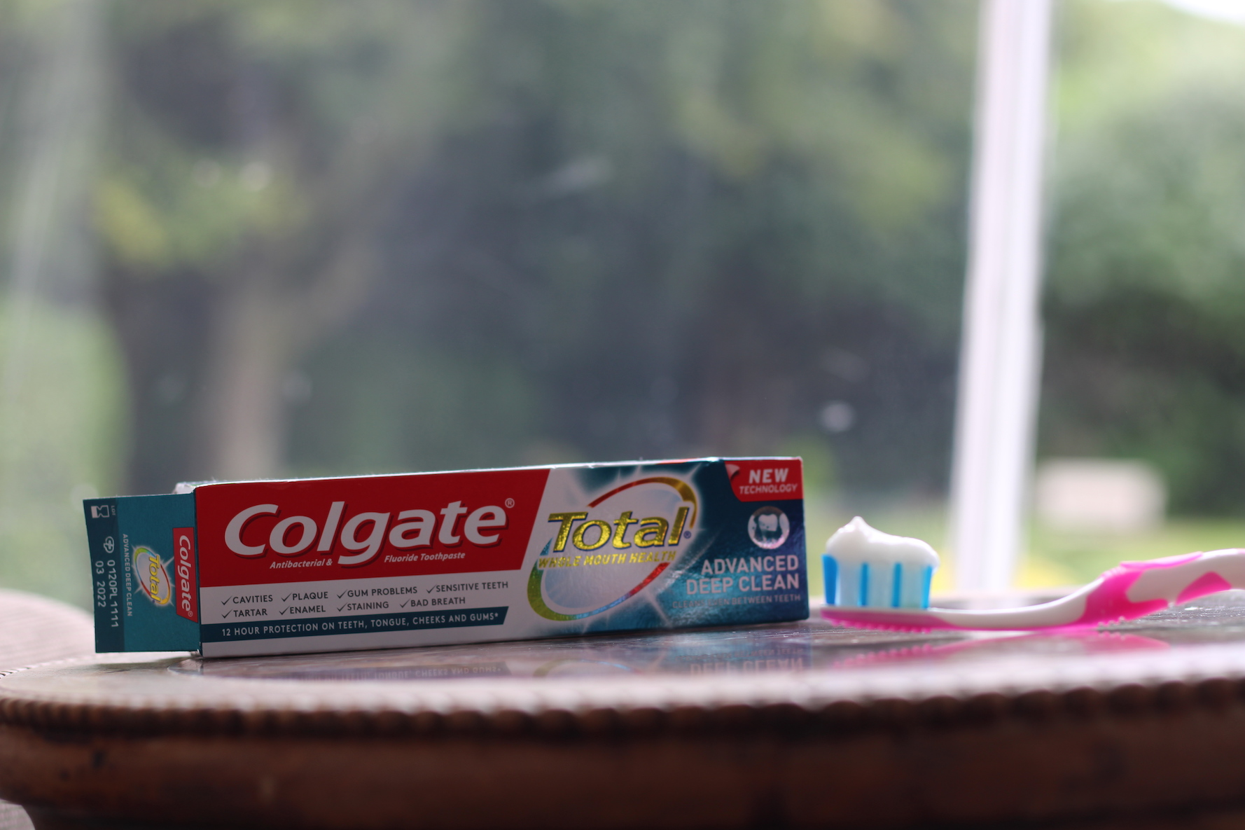 An image taken by myself and used in a recent post collaboration with popular brand Colgate