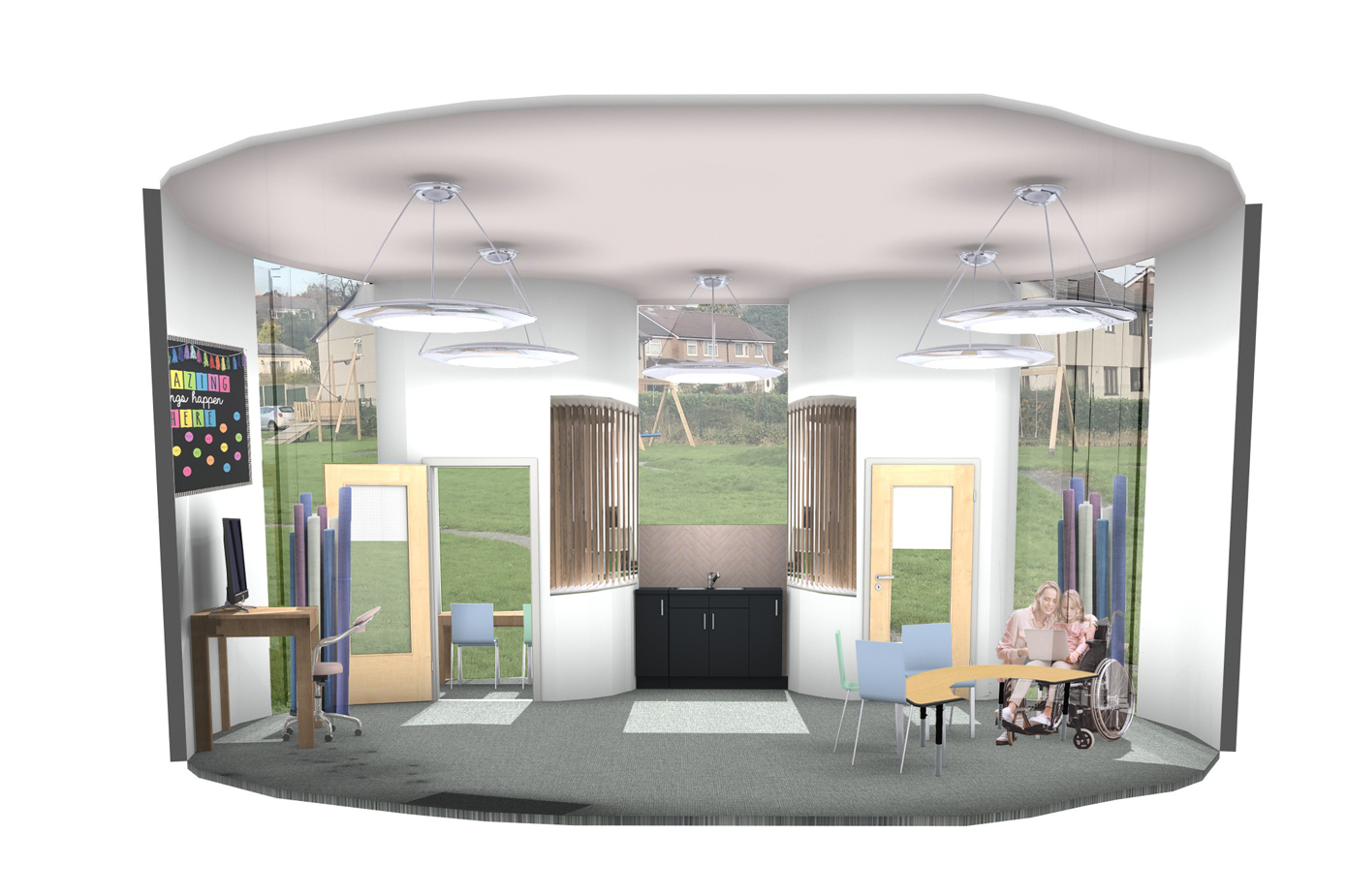 Redesigning Special Educational Needs Schools focusing on User Well Being (Classroom)