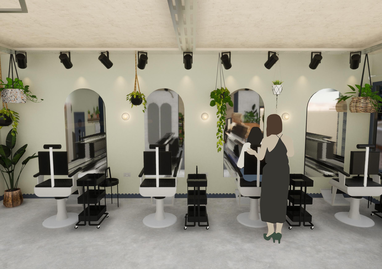 Glitch Multi-use Salon