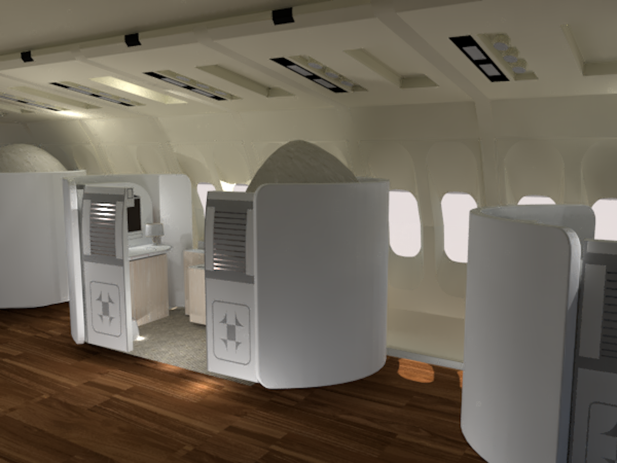 Beyond by Airbus - Cocoon Pod Seating