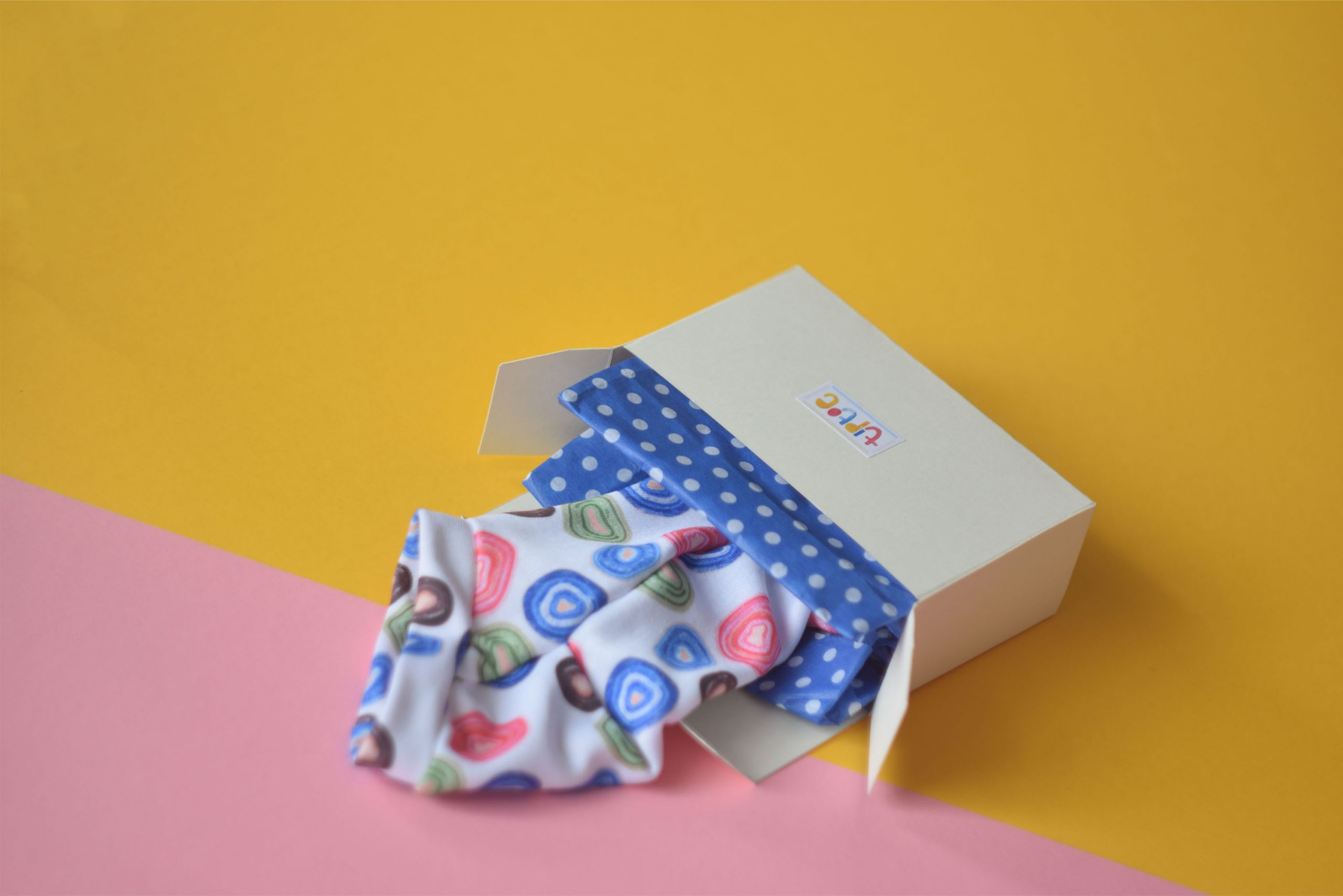 Tiptoe geode socks