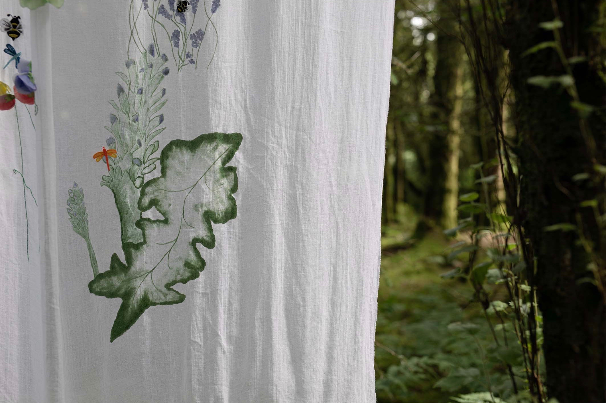 Whimsical Cottage Garden Drapes