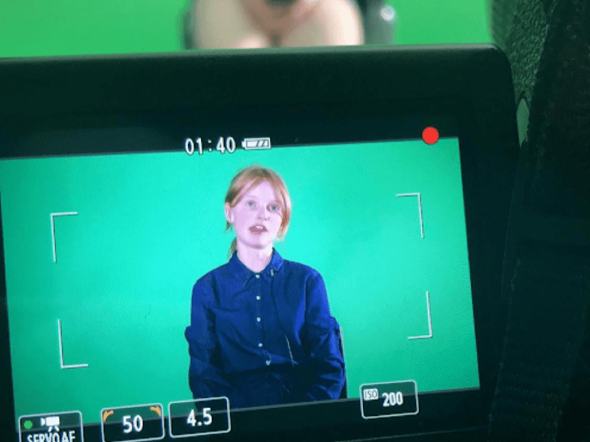 Filming children's video