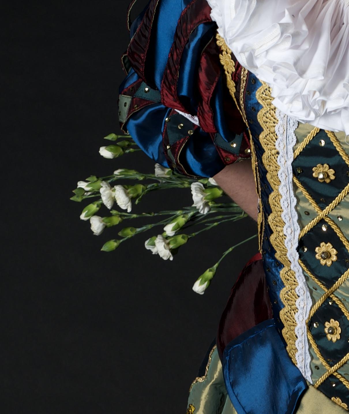 Close up photo - Doublet front details