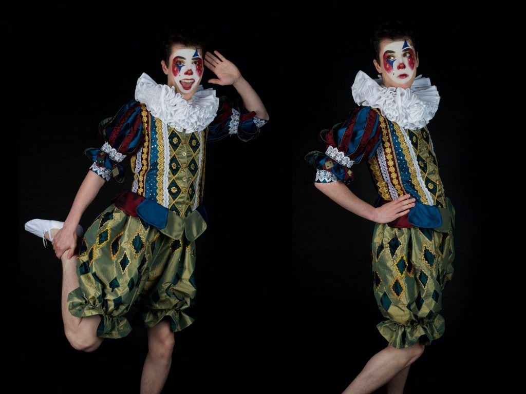 Carnival of Curiosities Project - Clown Prince Costume