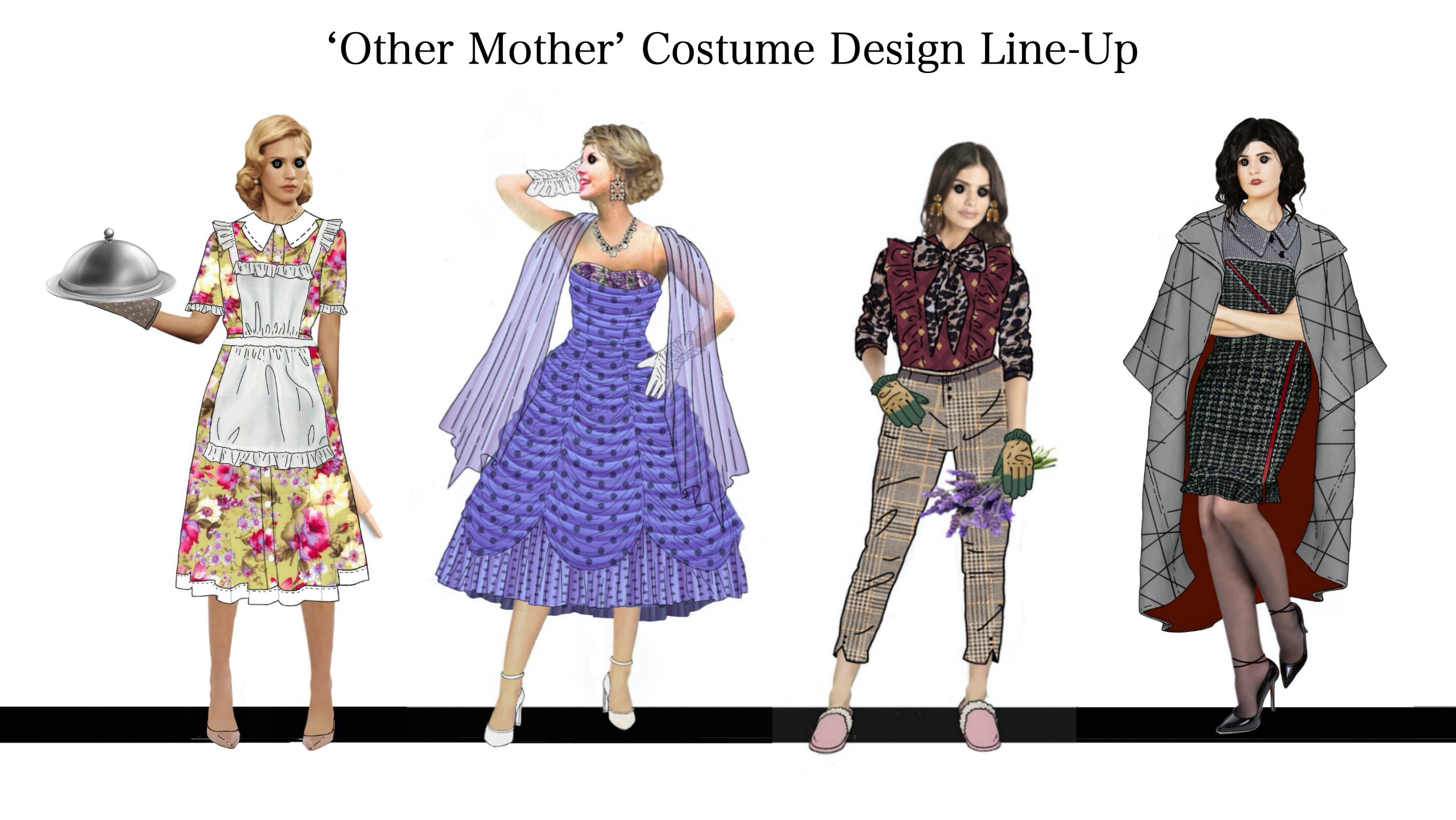 Costume Design Line-up : 'Other Mother'