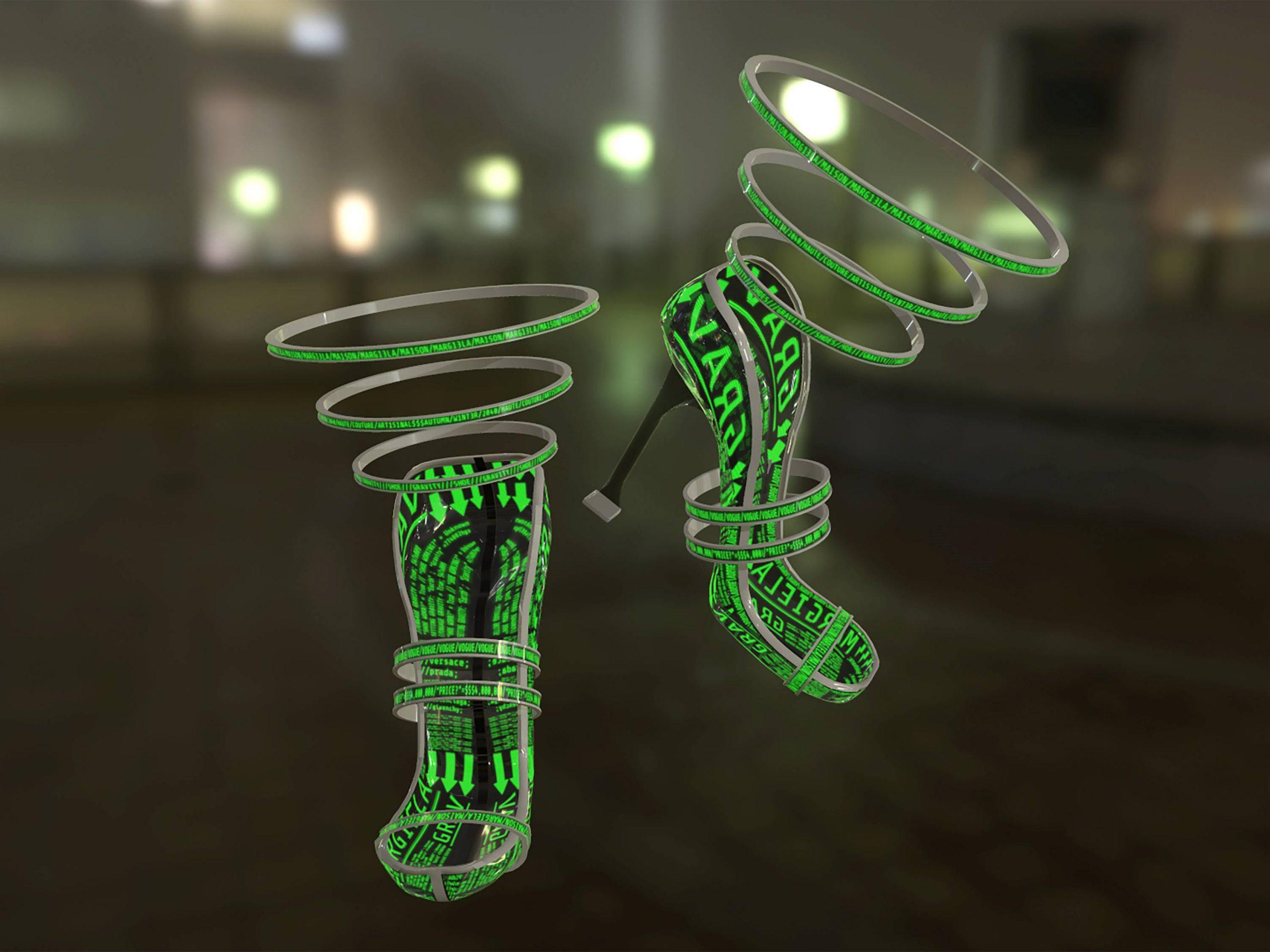Asset Creation: Gravity Heels - 3D Design