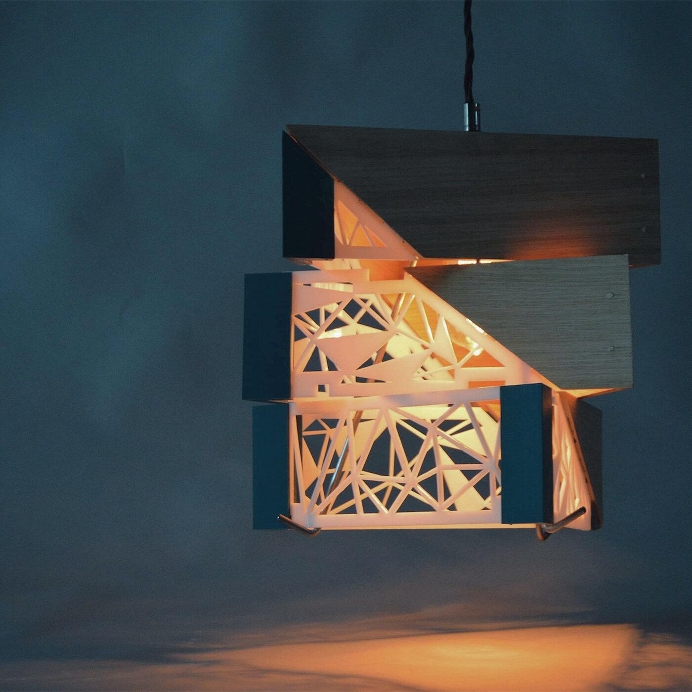 Triangular Light-shade
