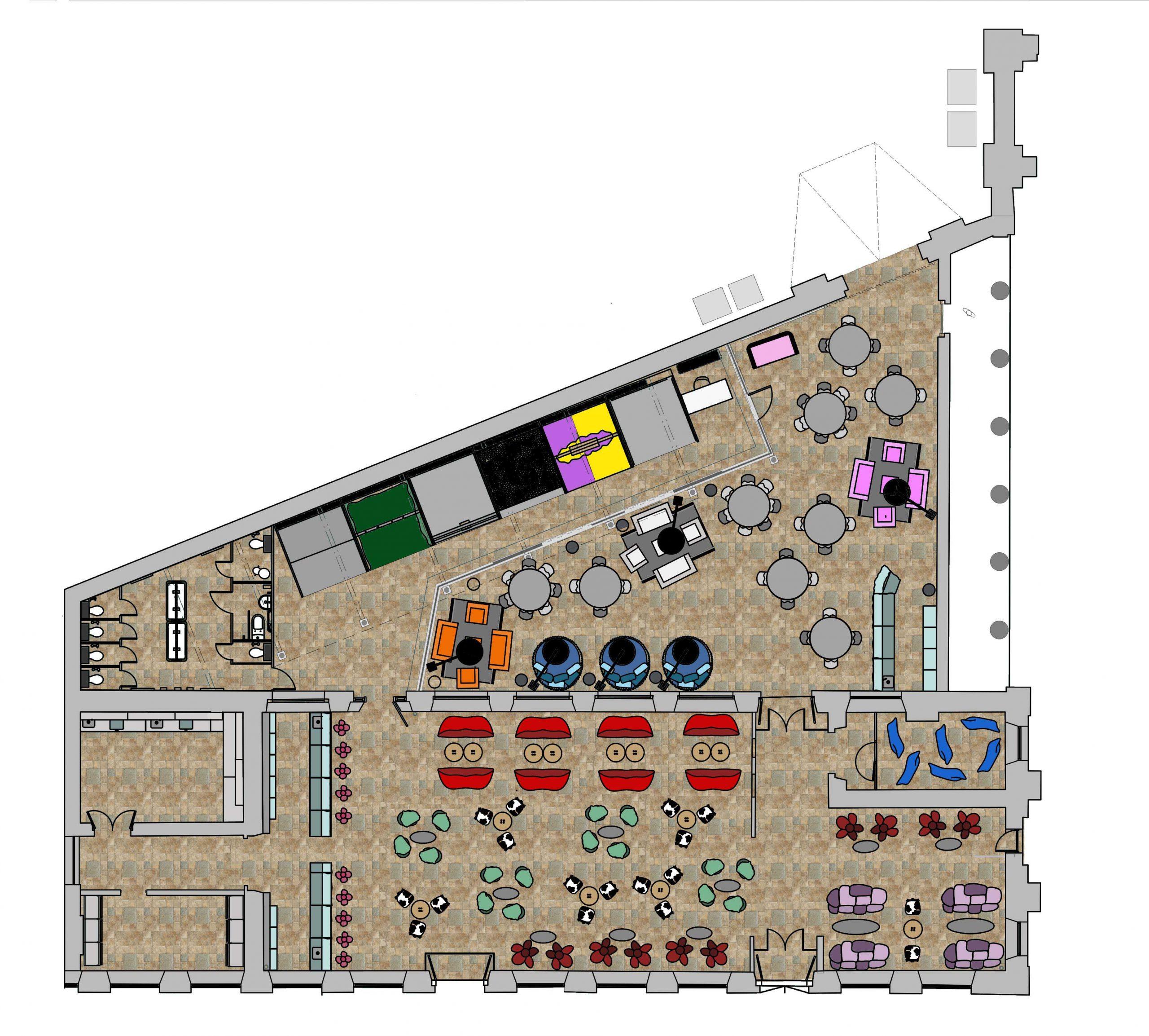 SnapShot : Bar : Floor Plan