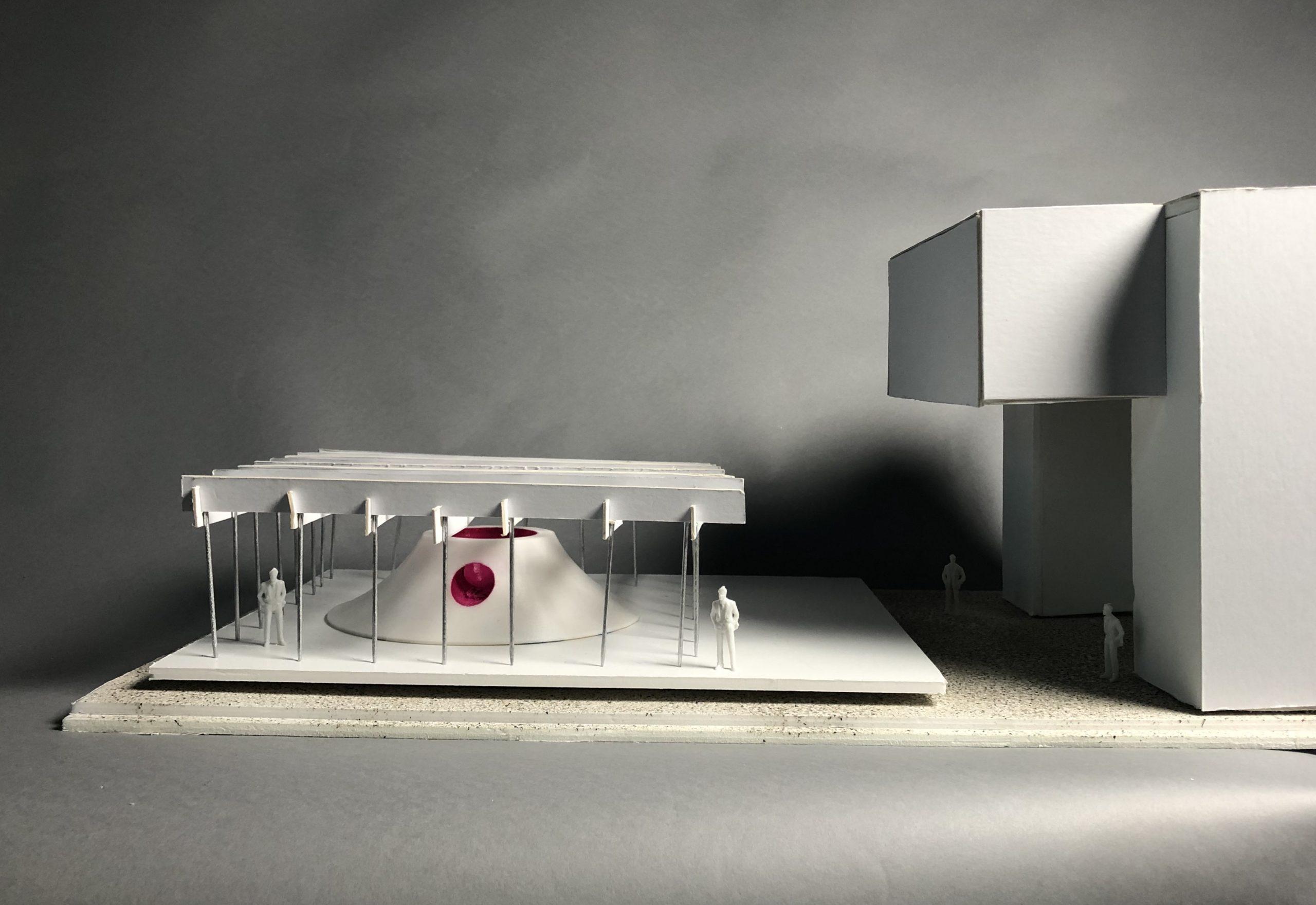 Model of Floating Pavilion