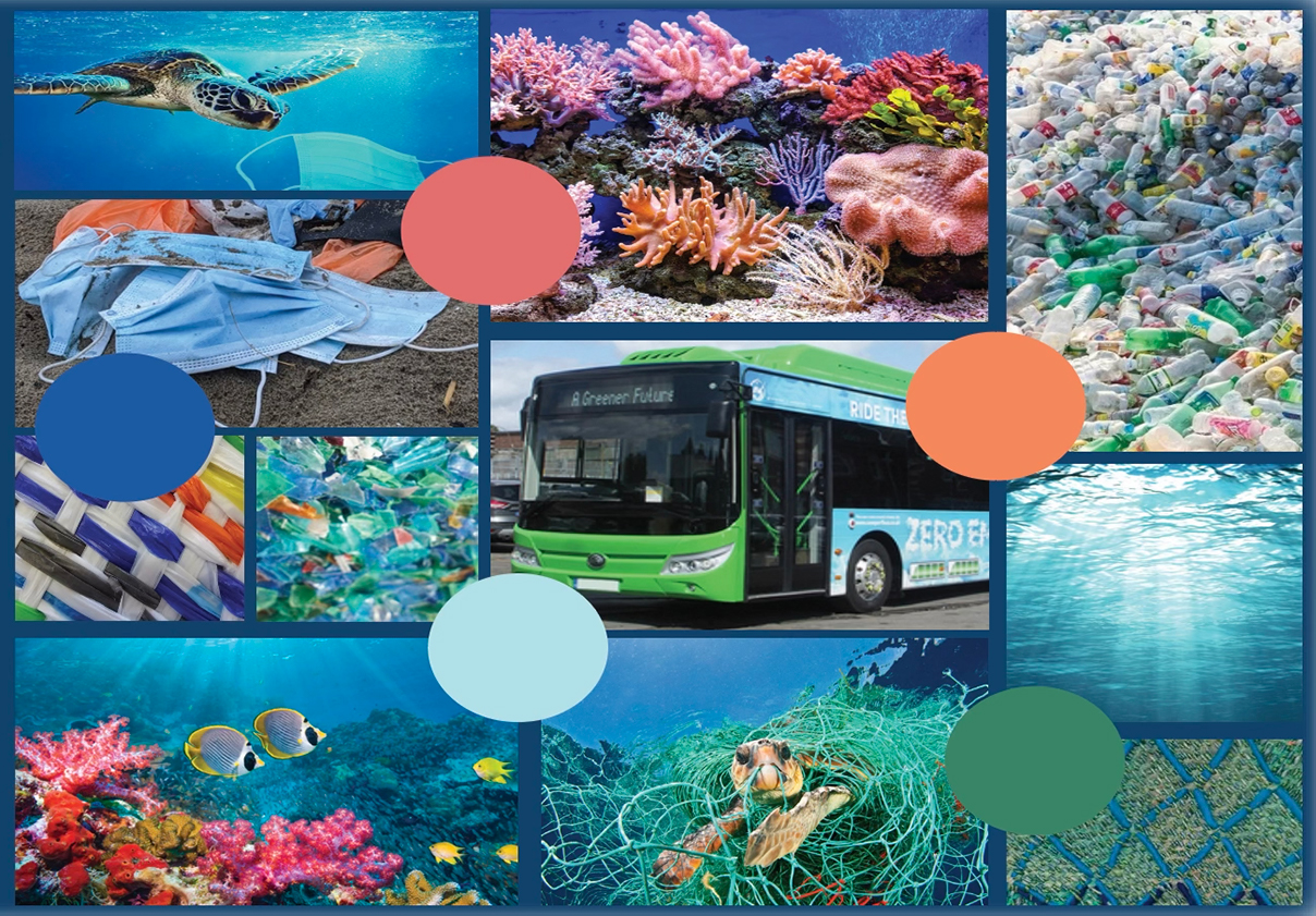 Swimming In Plastic: The Reality - Concept Board
