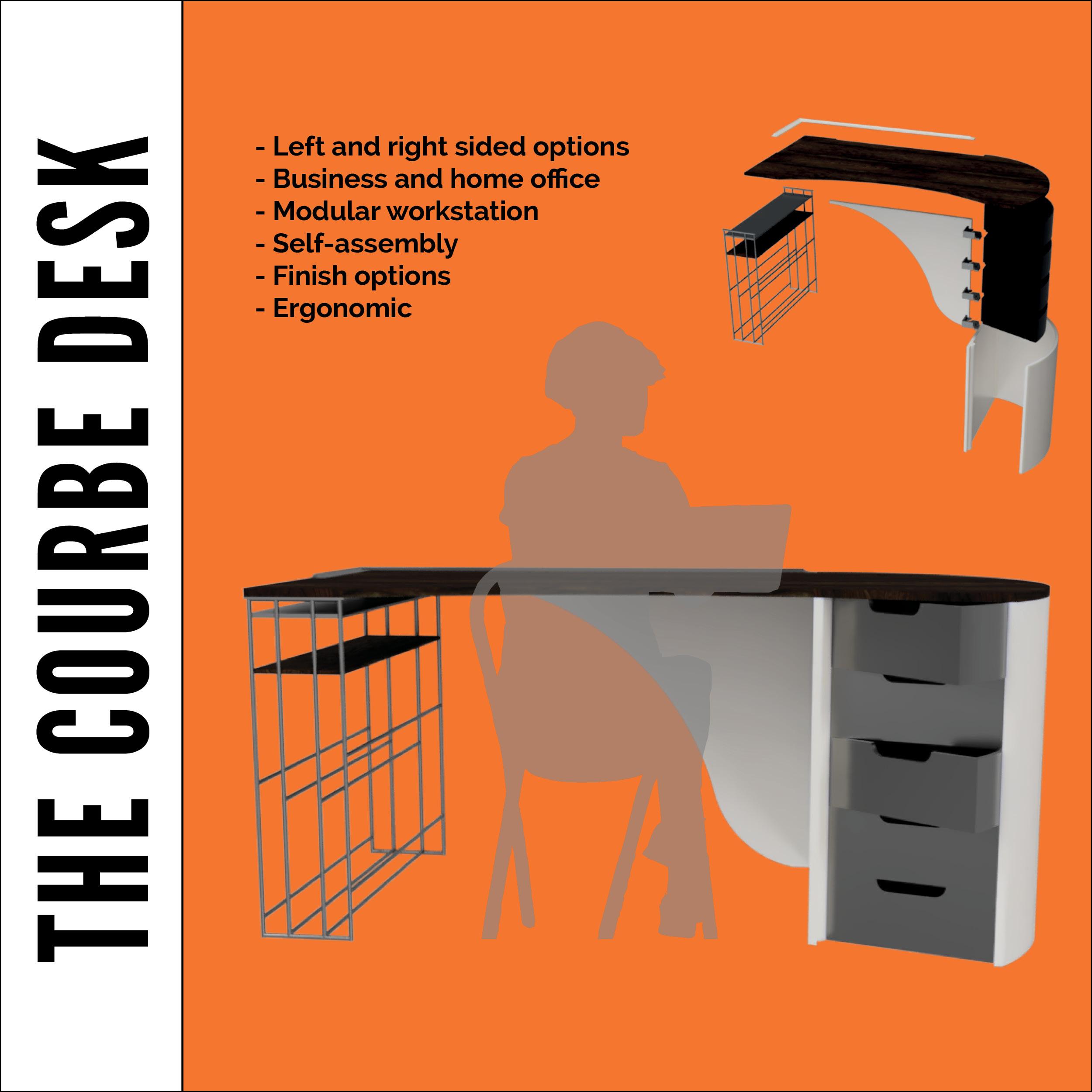 The Courbe Desk