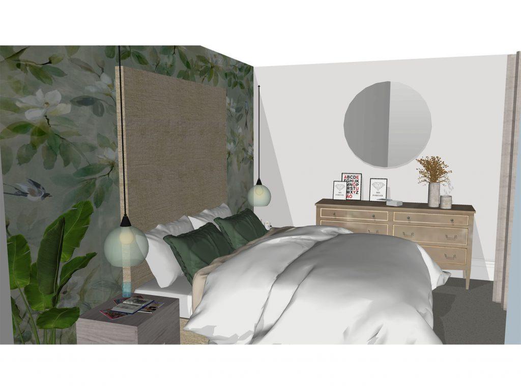 Show home Design Master Bedroom